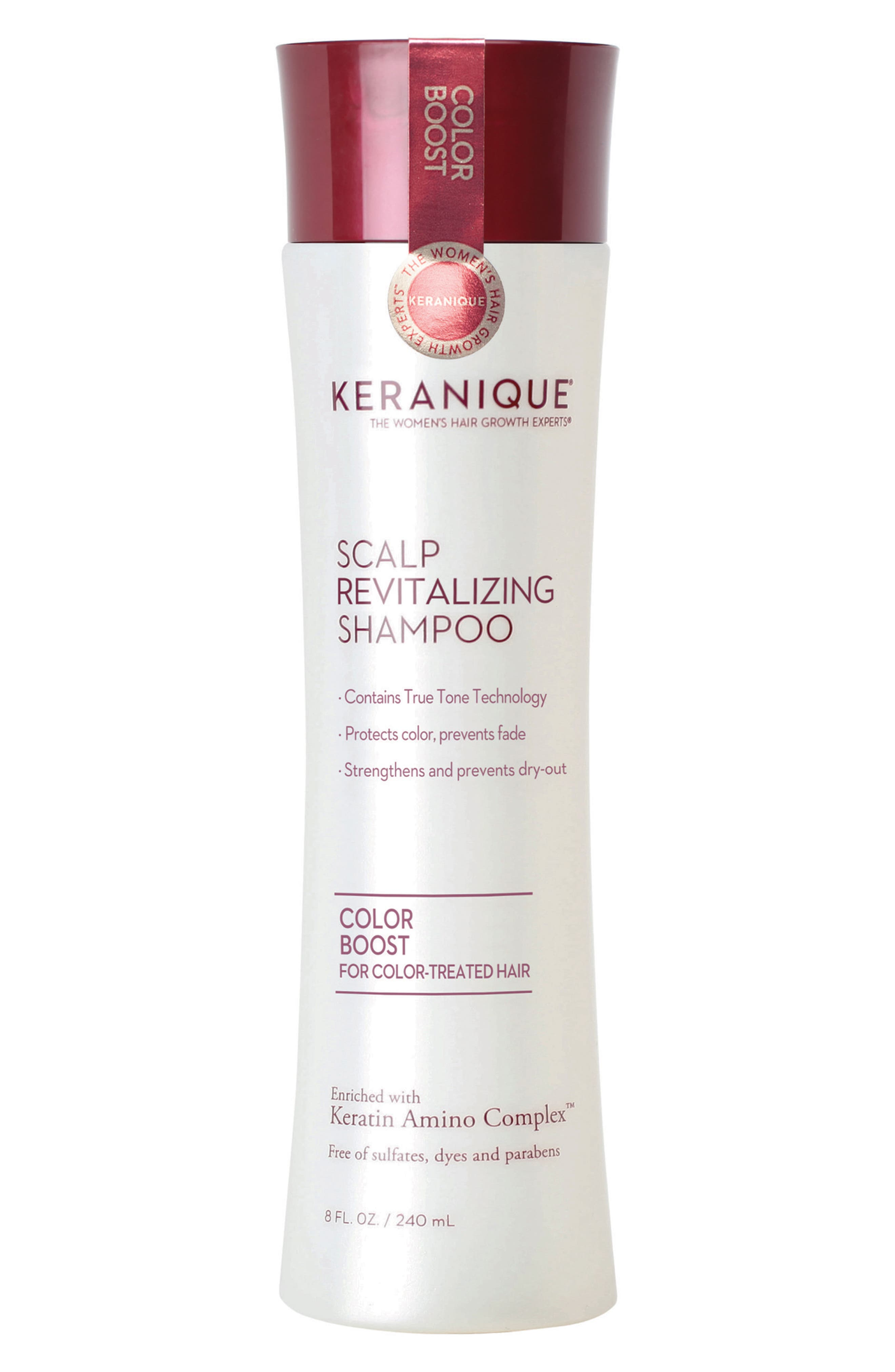 Alternate Image 1 Selected - Keranique Color Boost Scalp Revitalizing Shampoo