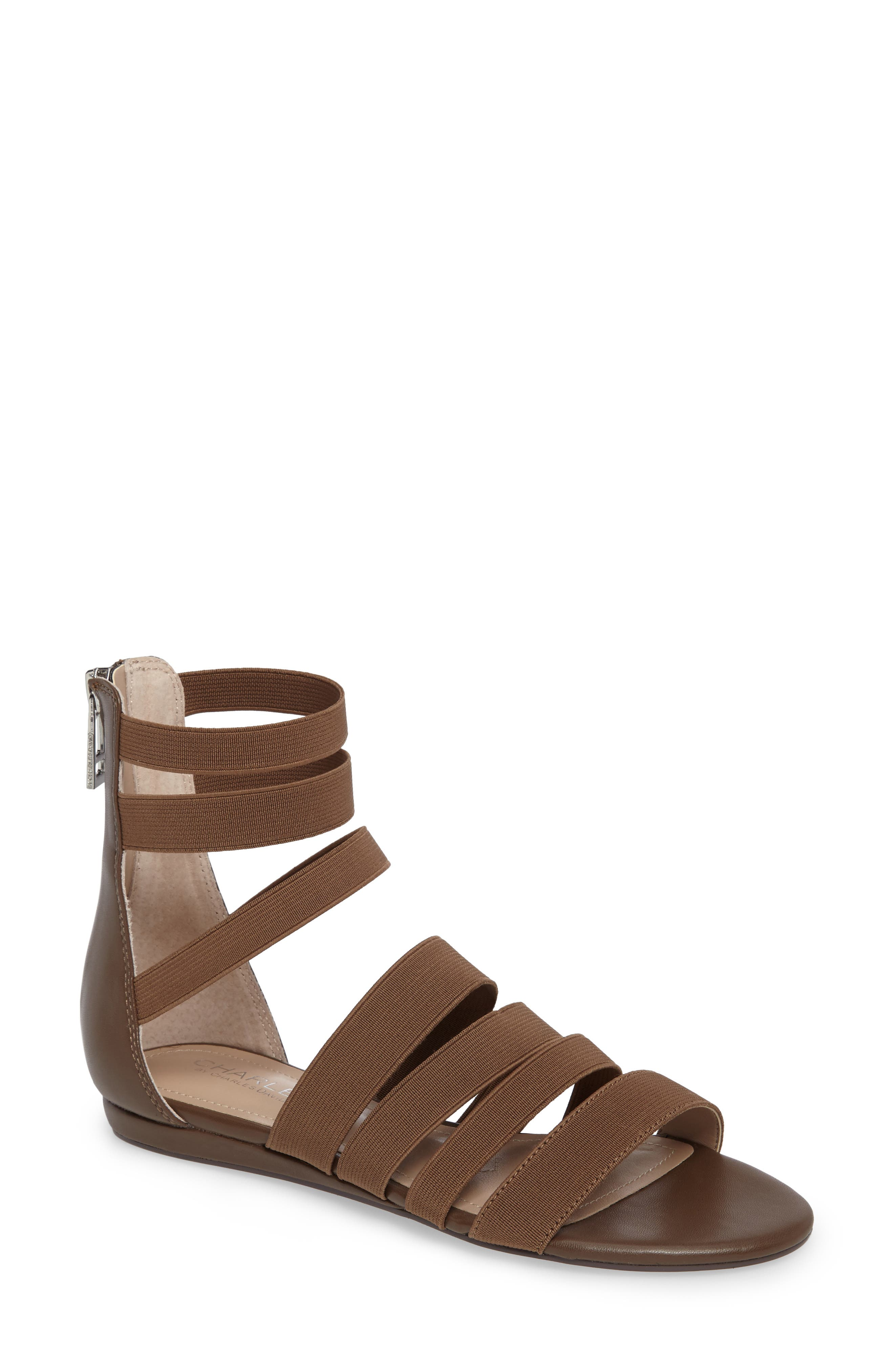 Charles by Charles David Maide Elastic Gladiator Sandal (Women)