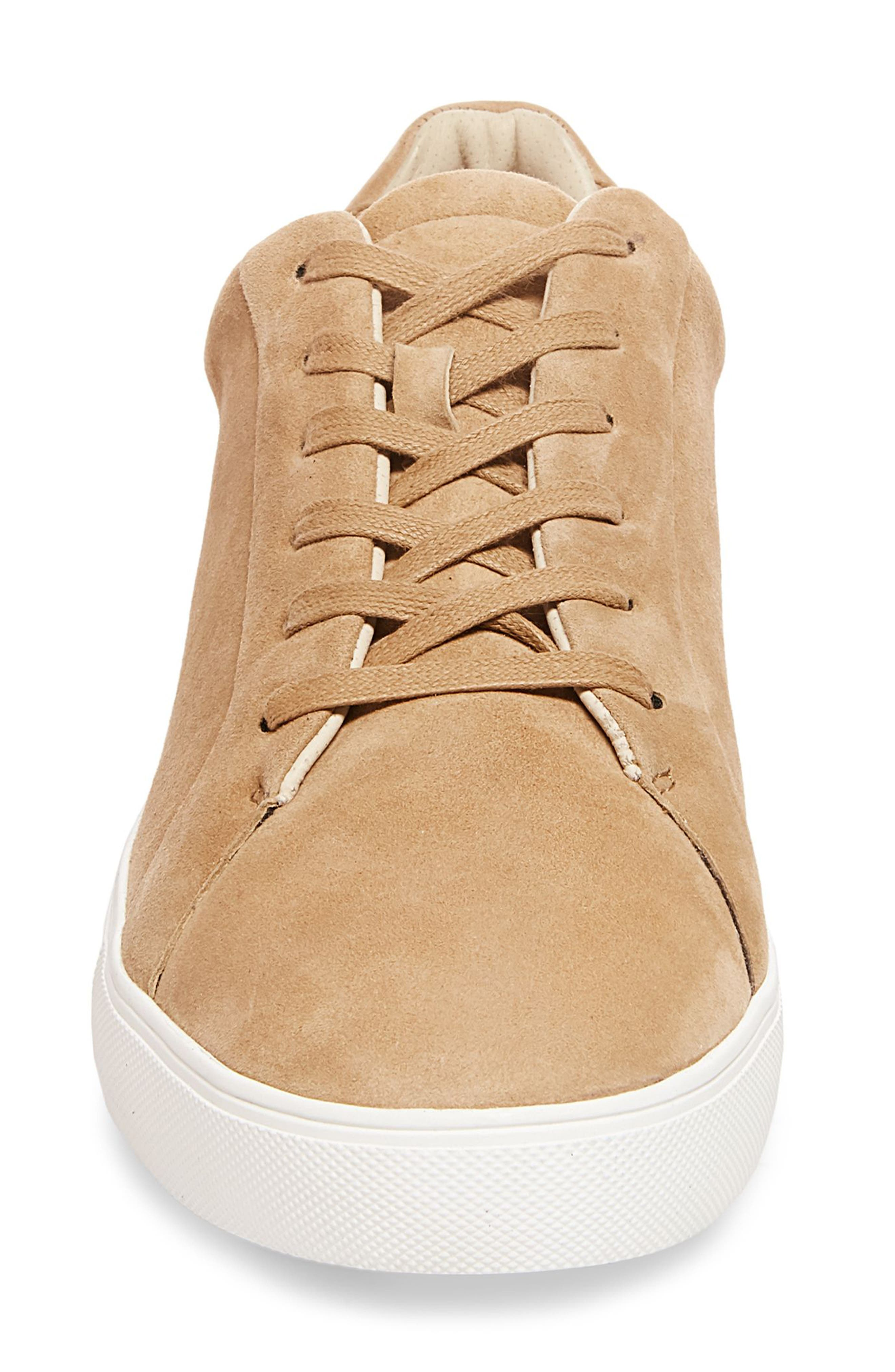 x GQ James Sneaker,                             Alternate thumbnail 4, color,                             Tan Suede