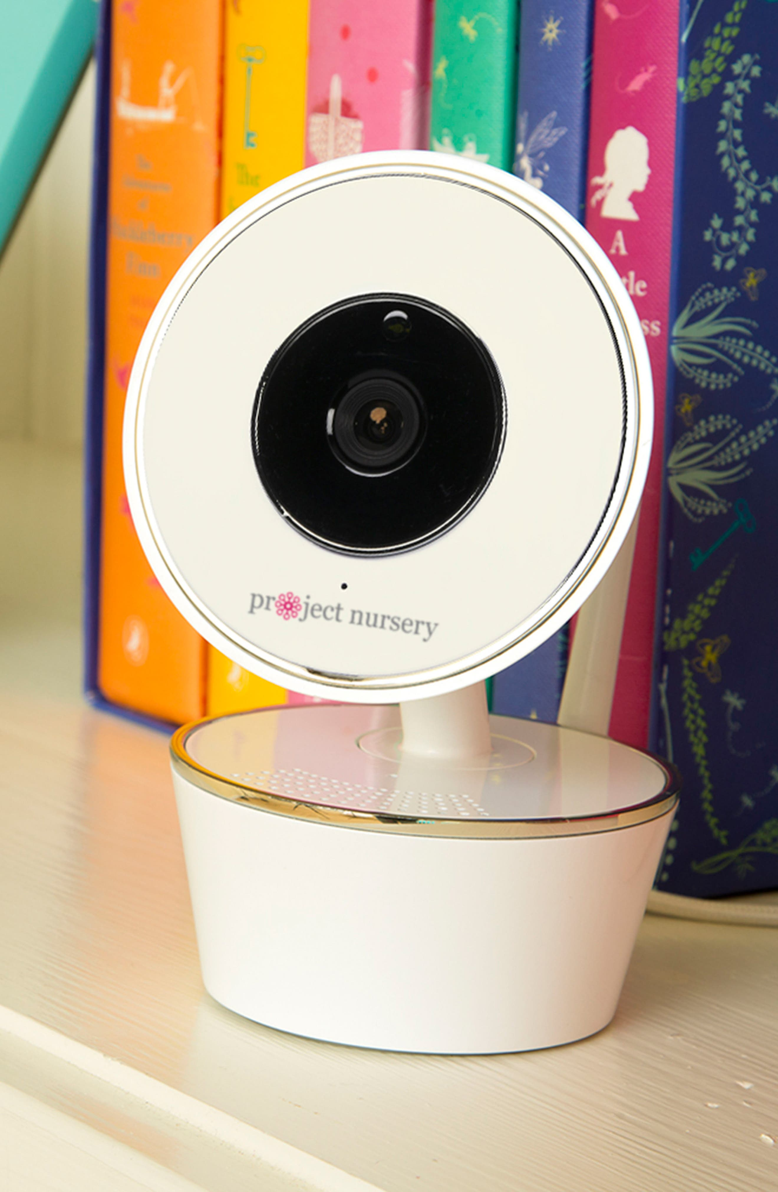 Wi-Fi Baby Monitor,                             Alternate thumbnail 4, color,                             White