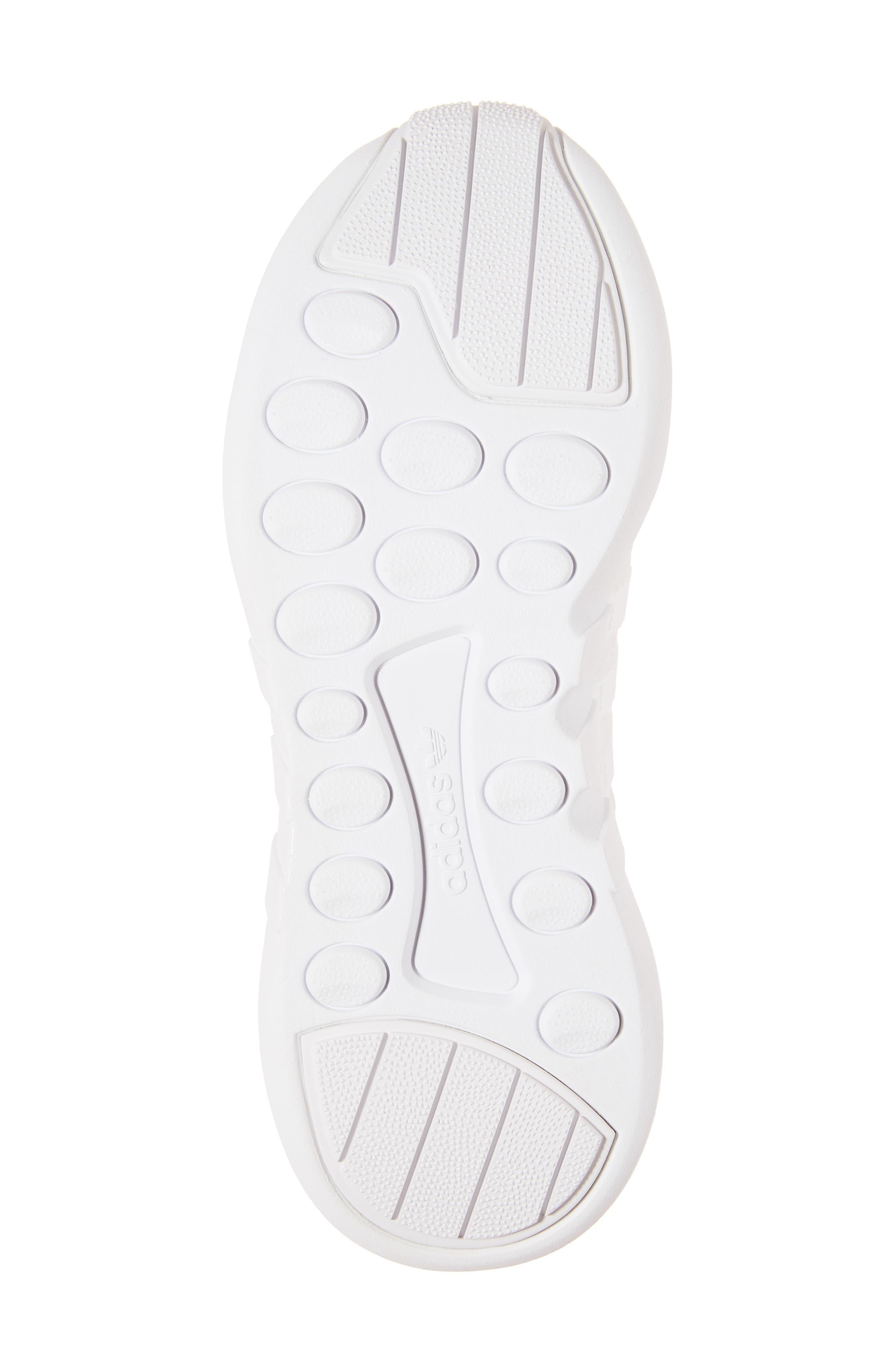 EQT Support Adv Sneaker,                             Alternate thumbnail 6, color,                             White/Core Black