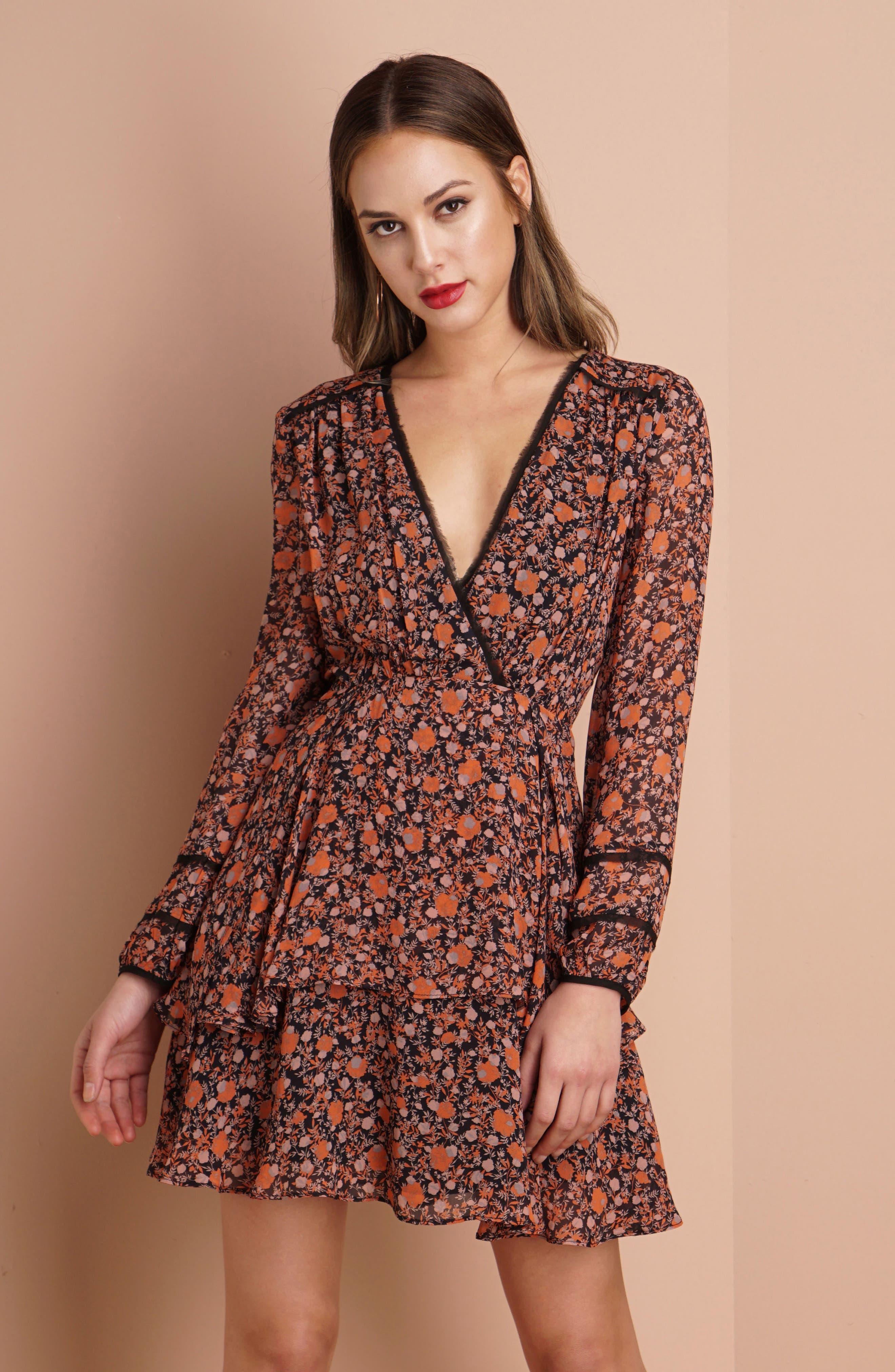 Alternate Image 2  - Greylin Haylie Fit & Flare Dress