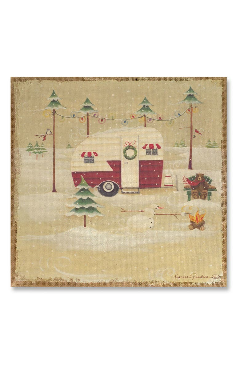 Melrose Gifts Camping Christmas Trailer Wall Art | Nordstrom