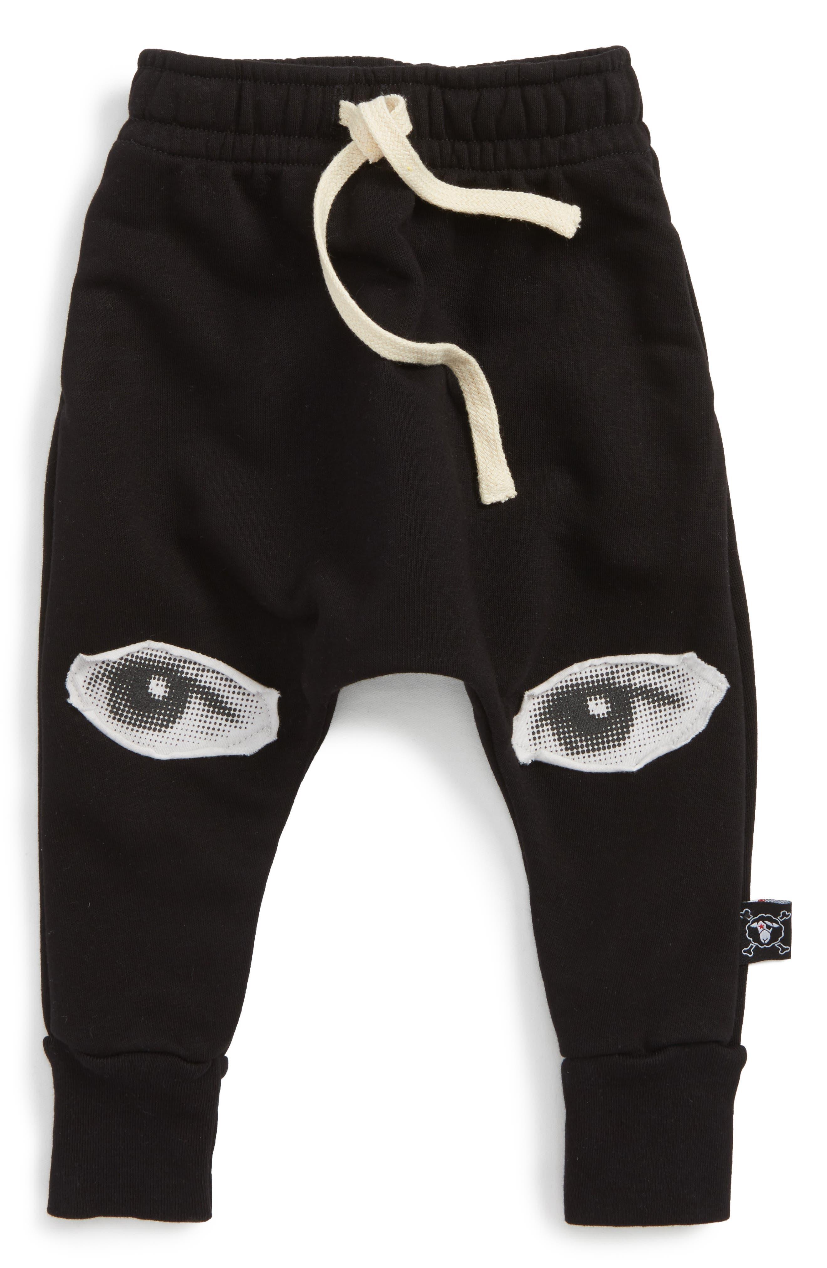 Eye Patch Jogger Sweatpants,                         Main,                         color, Black