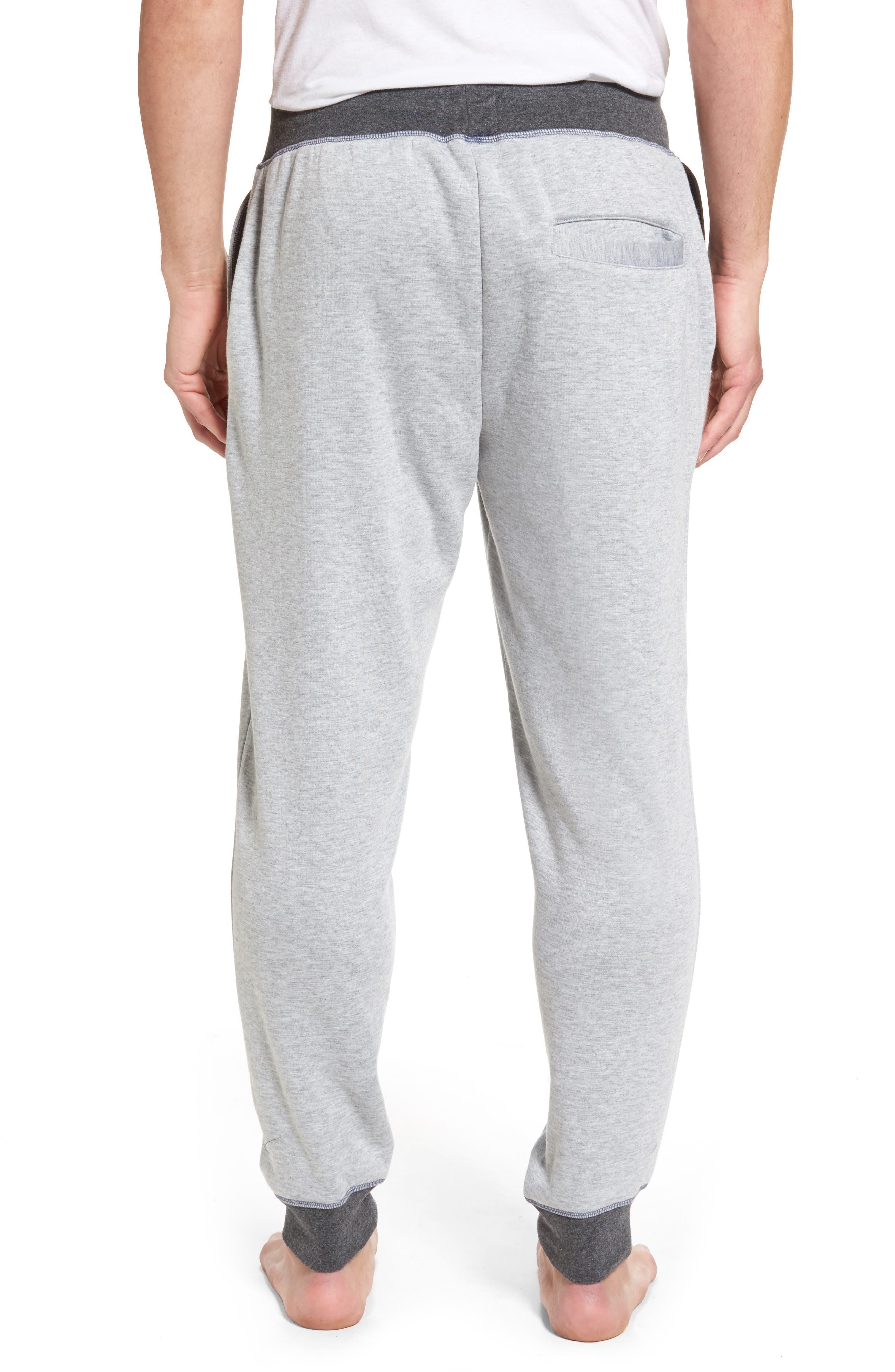 Double Take Knit Lounge Pants,                             Alternate thumbnail 2, color,                             Grey