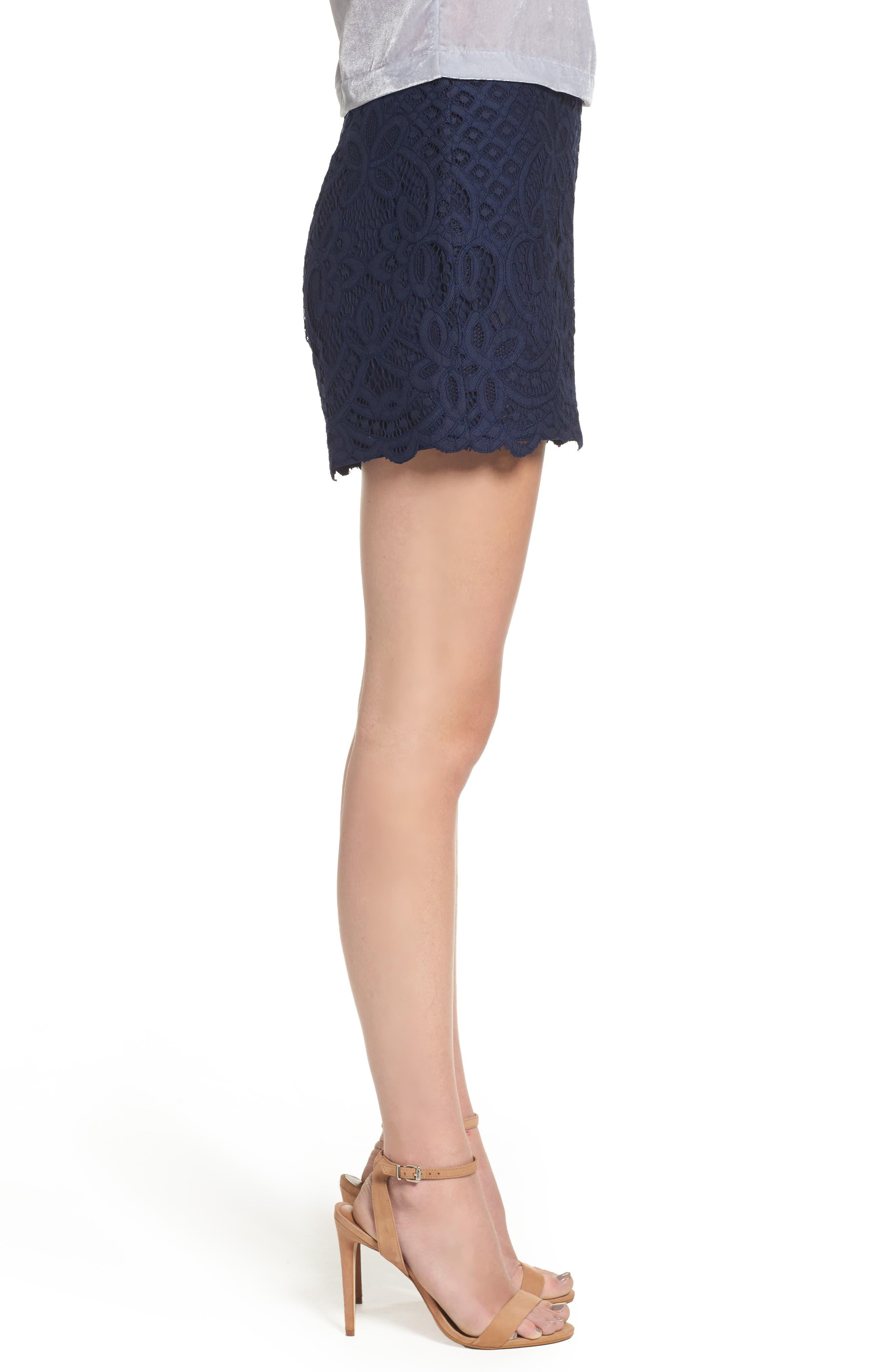 Alternate Image 3  - cupcakes and cashmere Jennifer Lace Shorts