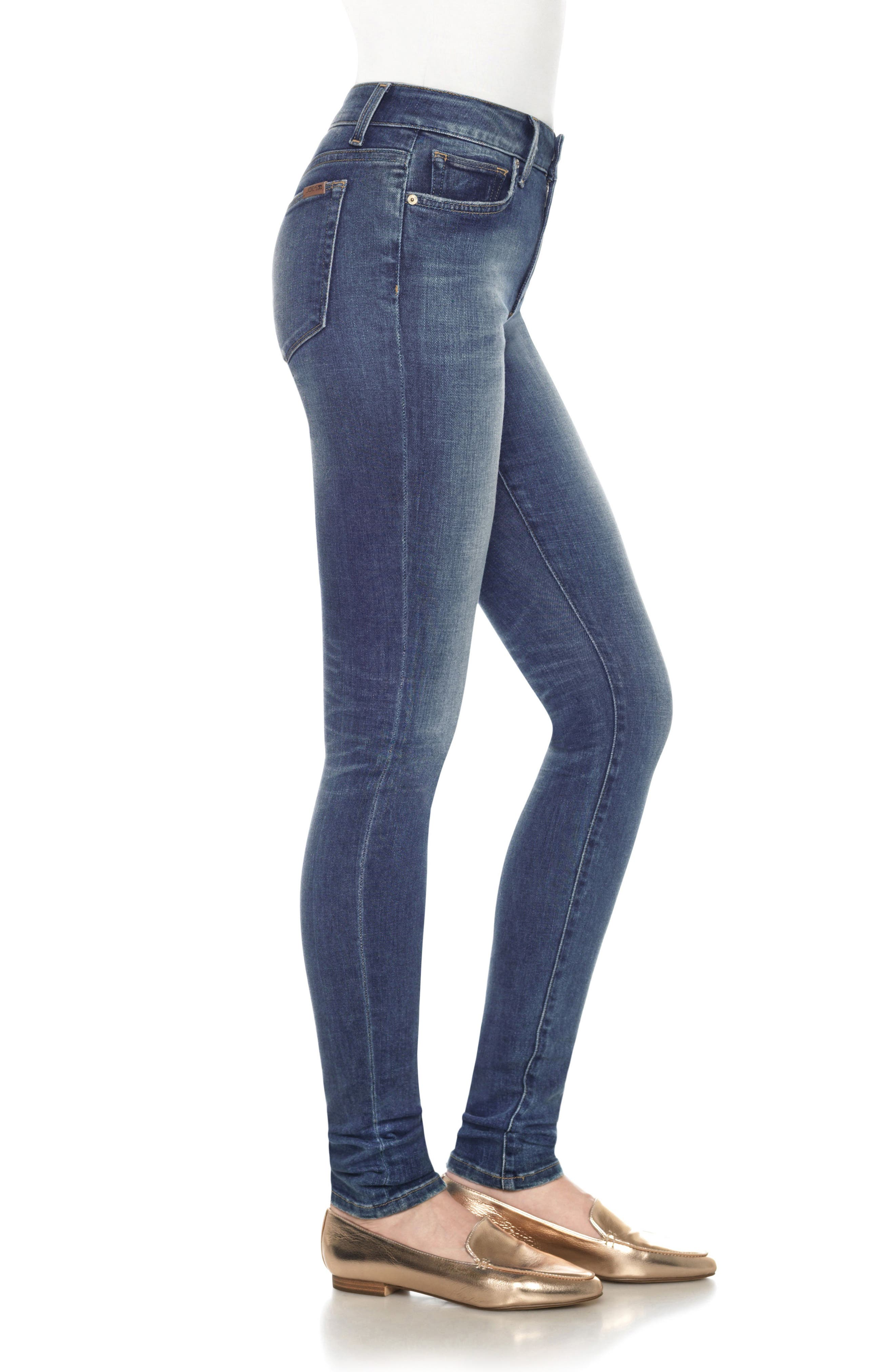Twiggy Skinny Jeans,                             Alternate thumbnail 3, color,                             Kinney