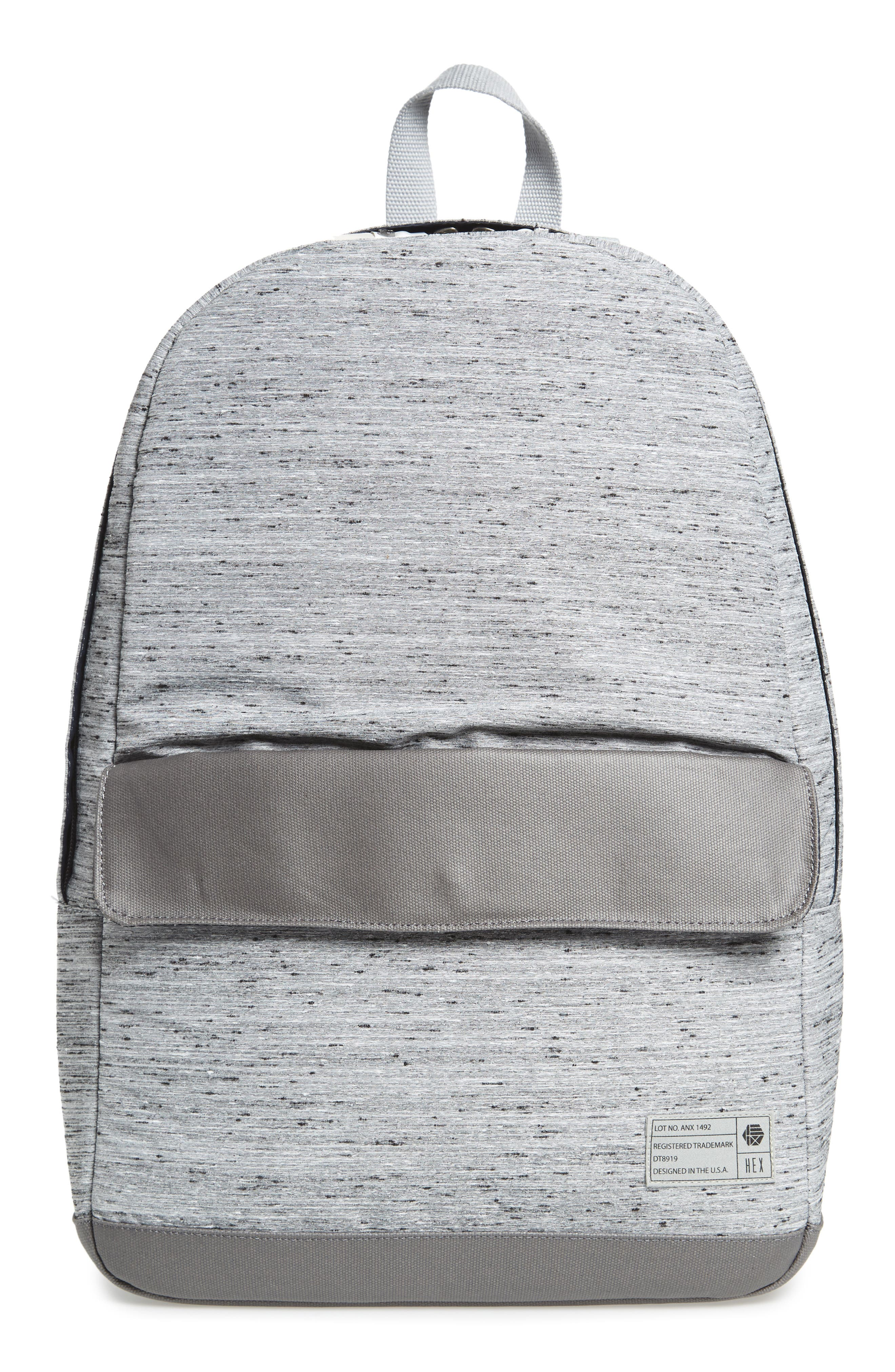 'Echo' Backpack,                         Main,                         color, Annex Grey Slub