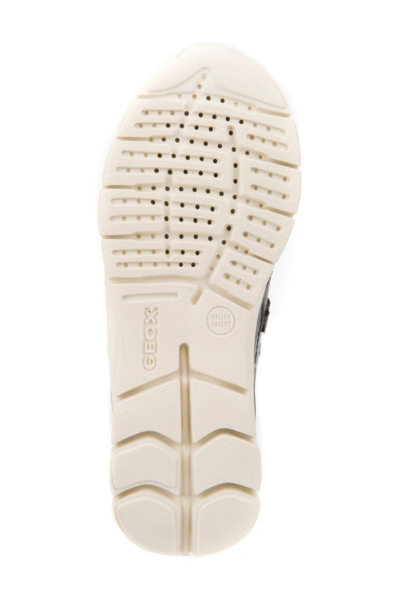 Sukie Sneaker,                             Alternate thumbnail 6, color,                             Black