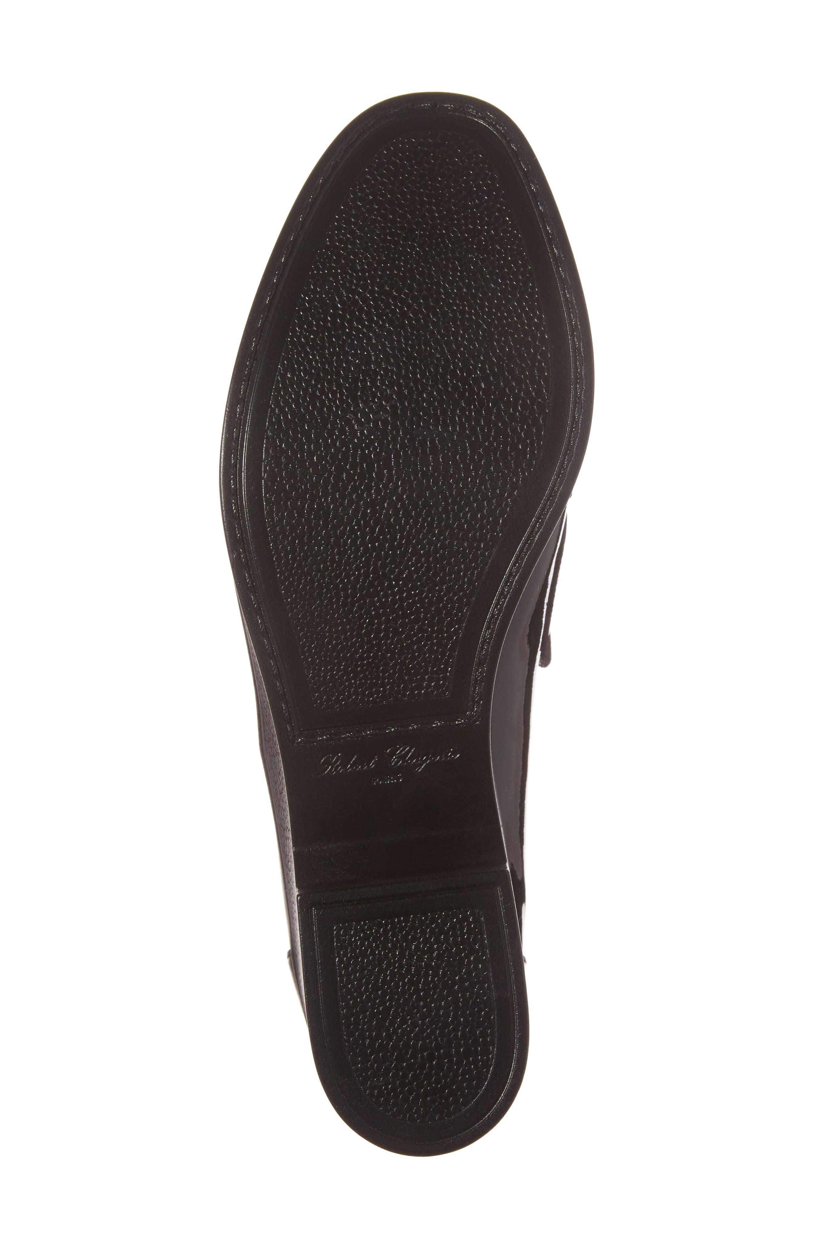 Xock Platform Loafer,                             Alternate thumbnail 6, color,                             Black