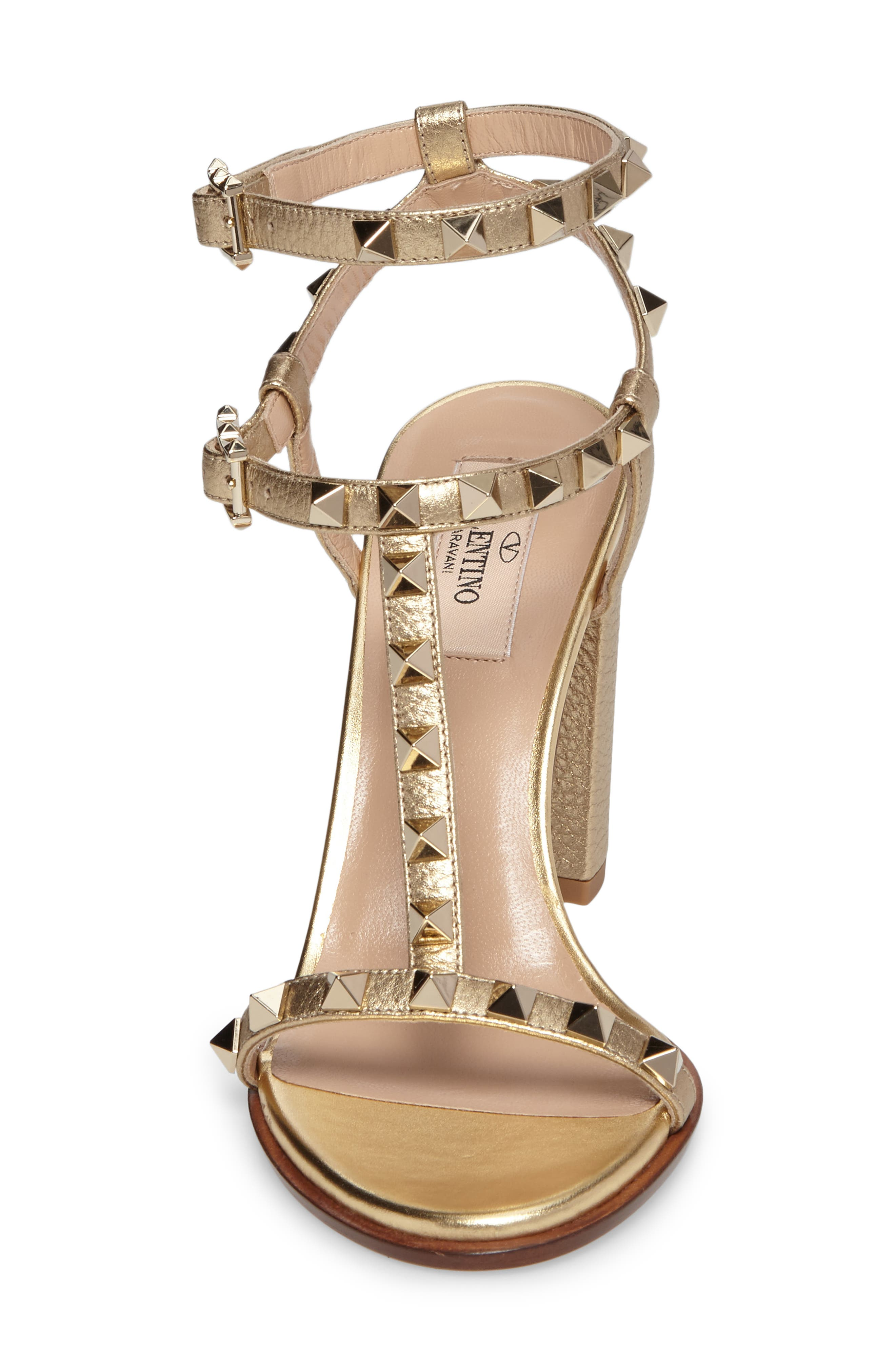 Alternate Image 4  - VALENTINO GARAVANI Rockstud Ankle Strap Sandal (Women)