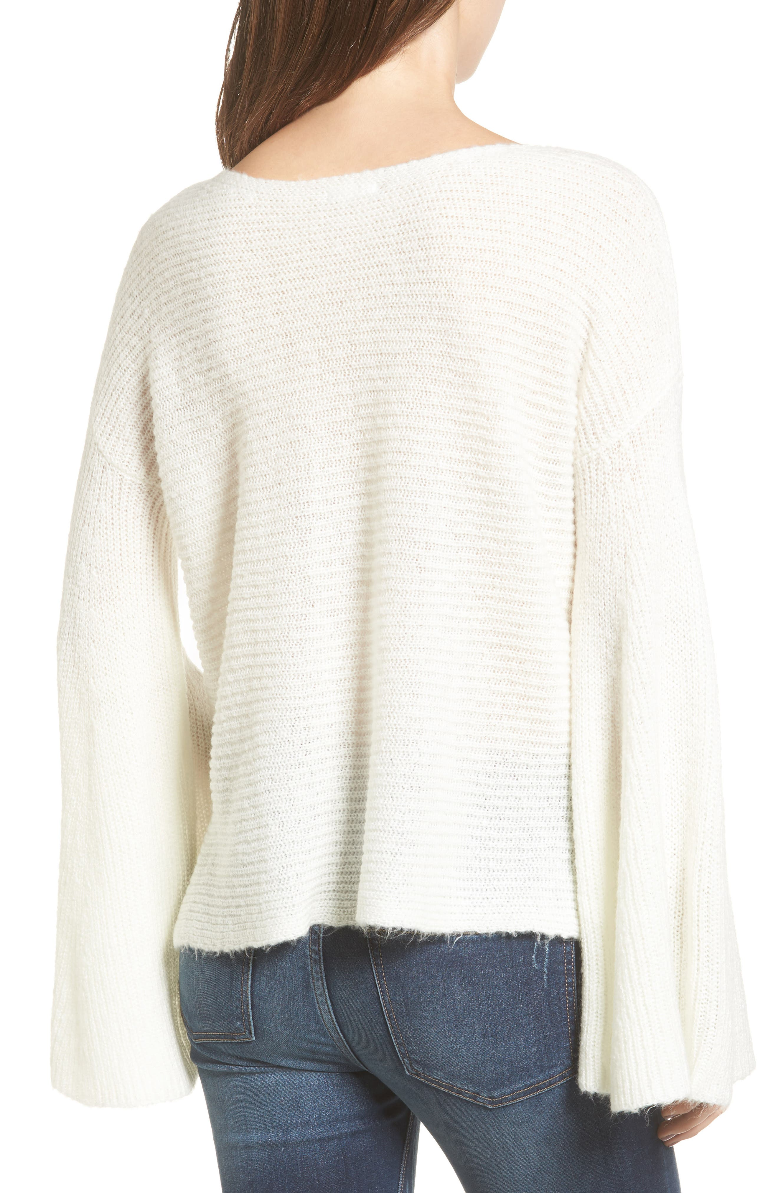 Alternate Image 2  - BP. Flare Sleeve Sweater