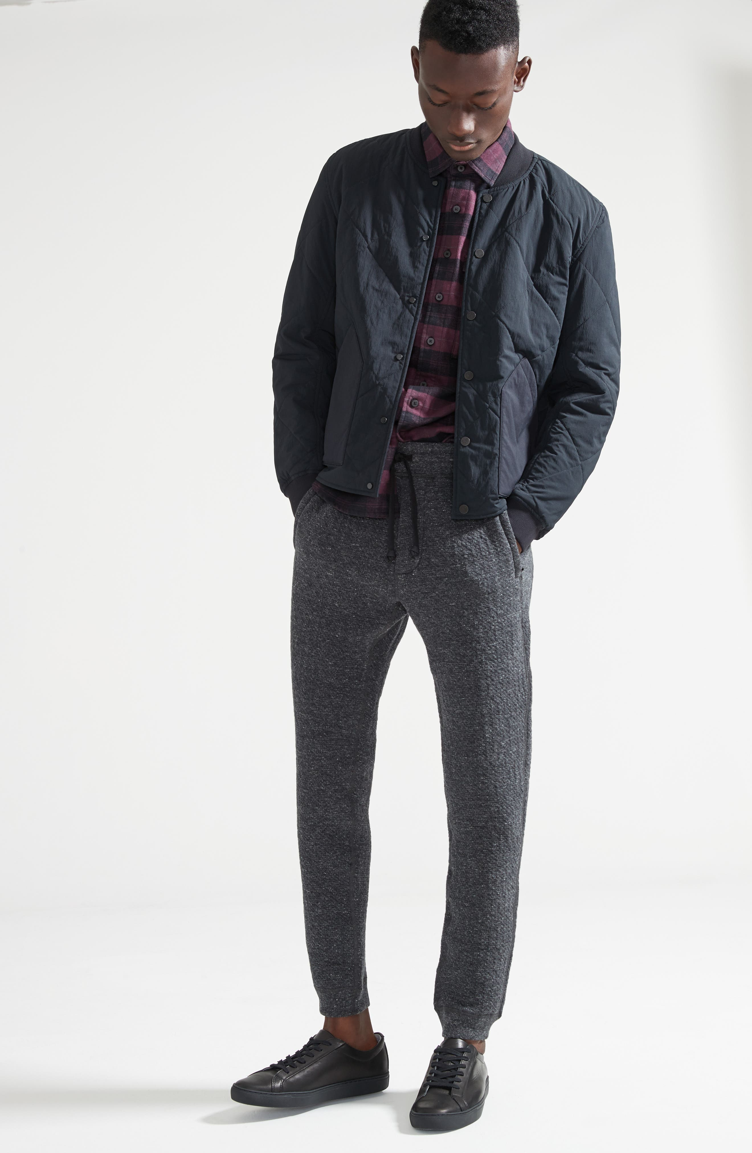 Alternate Image 7  - wings + horns Cabin Fleece Sweatpants