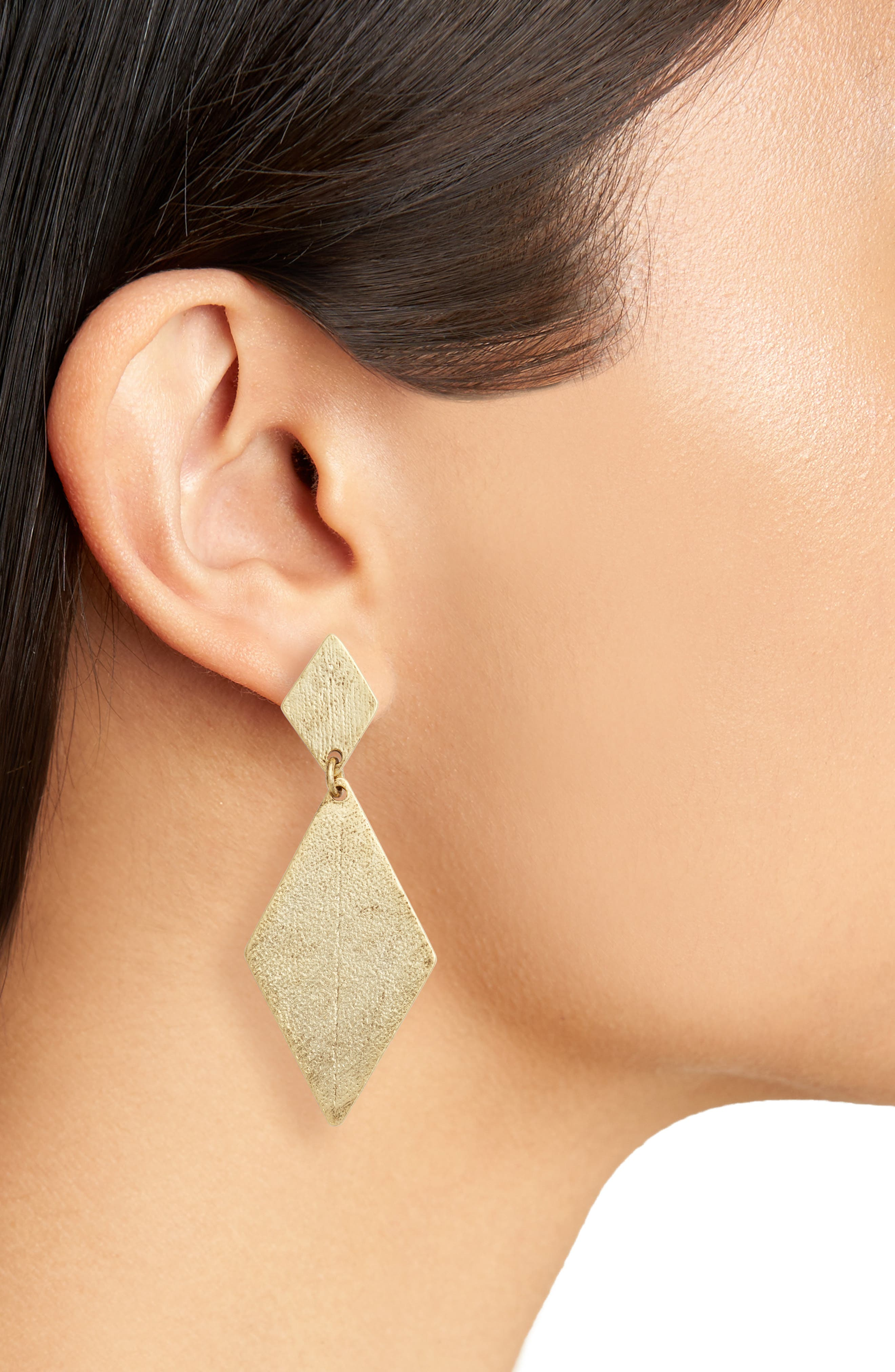 Alternate Image 2  - Karine Sultan Kite Earrings