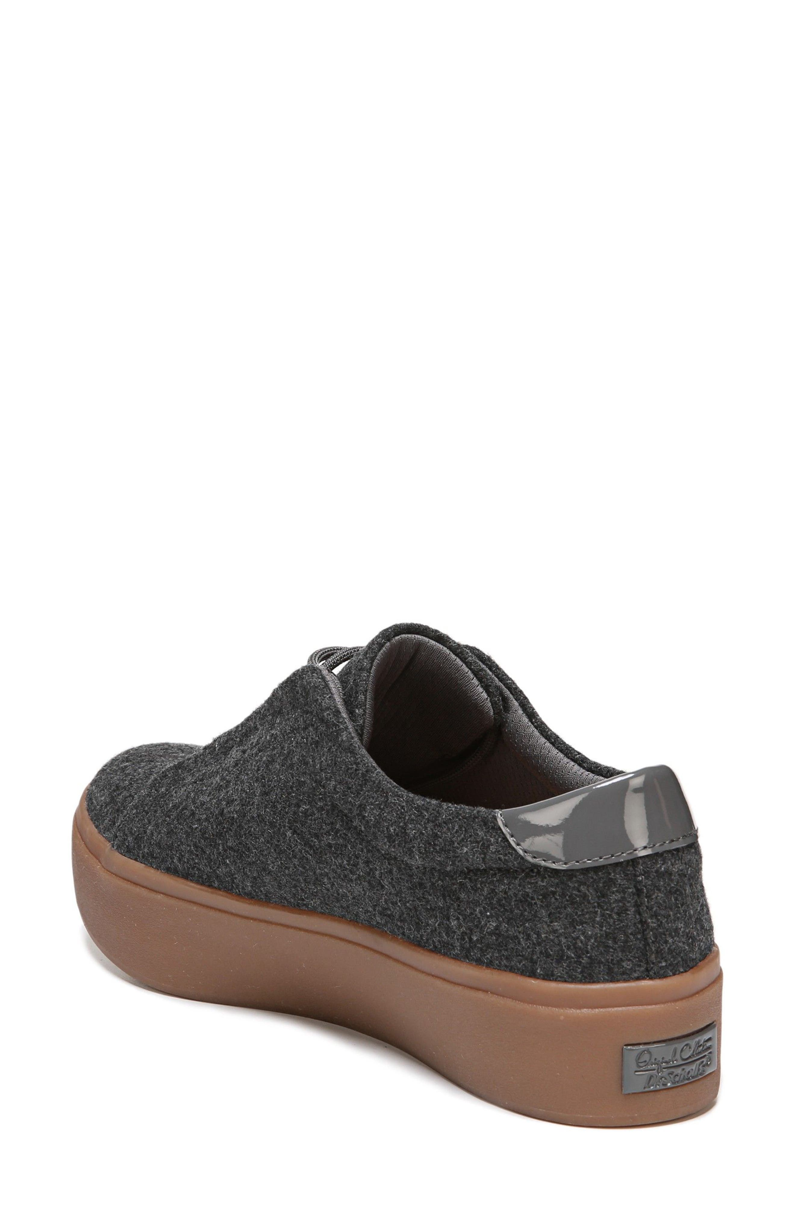 Abbot Sneaker,                             Alternate thumbnail 2, color,                             Charcoal Fabric