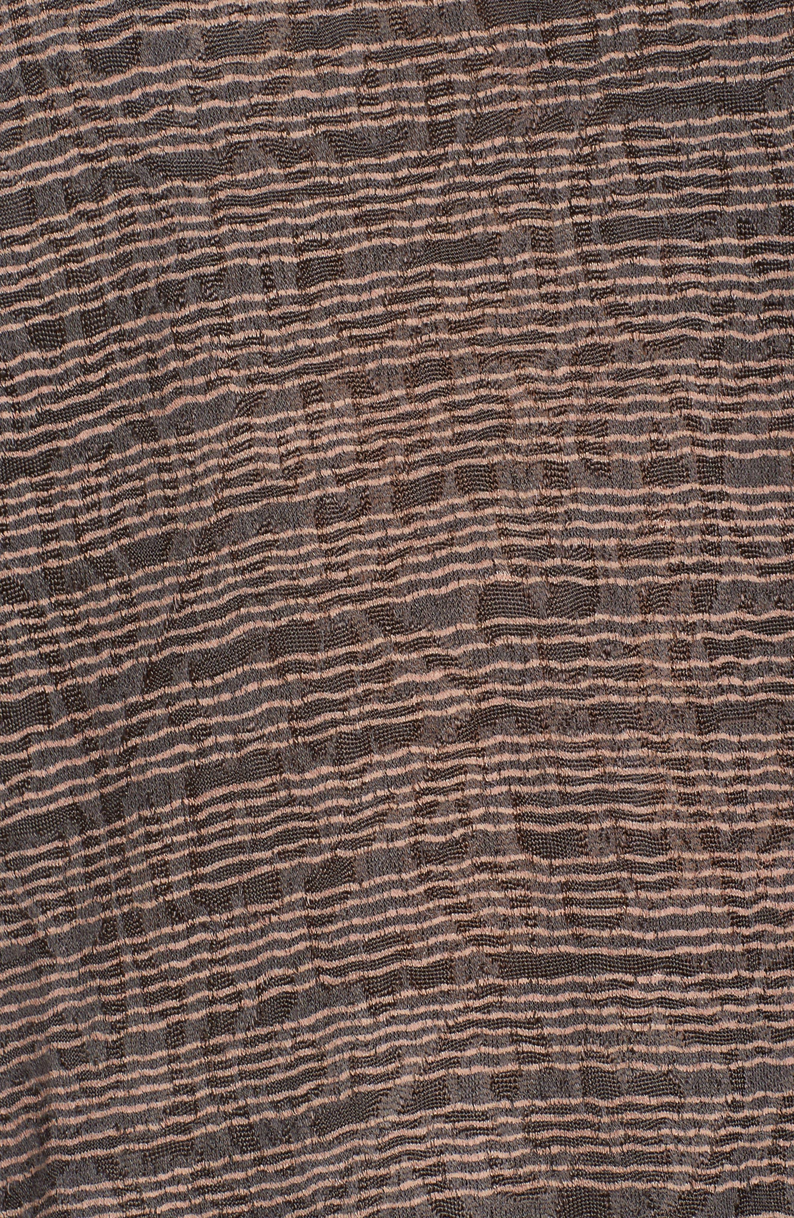 Alternate Image 5  - Lucky Brand Stripe Cold Shoulder Top (Plus Size)