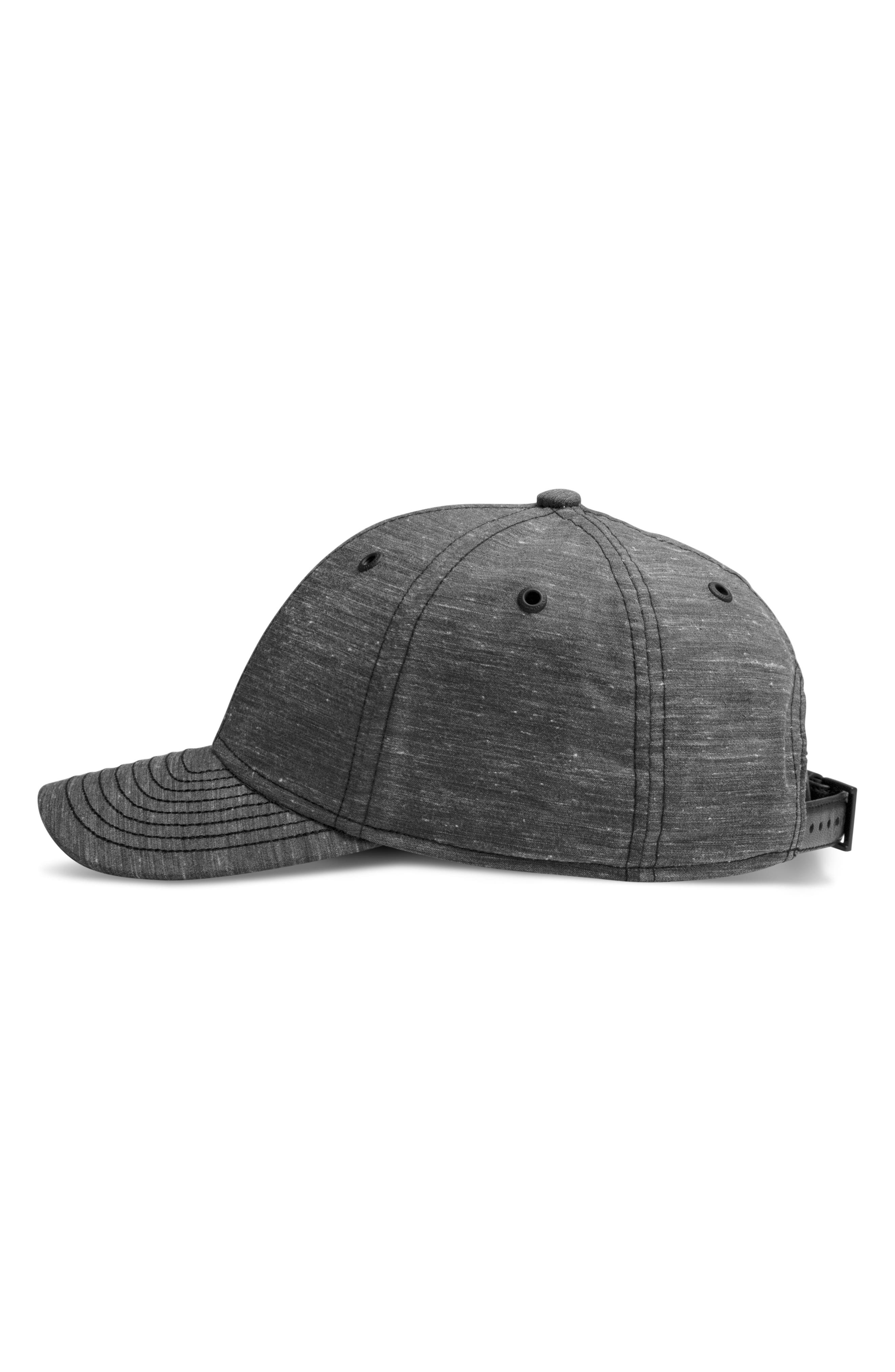 The Prep Cap,                             Alternate thumbnail 4, color,                             Black