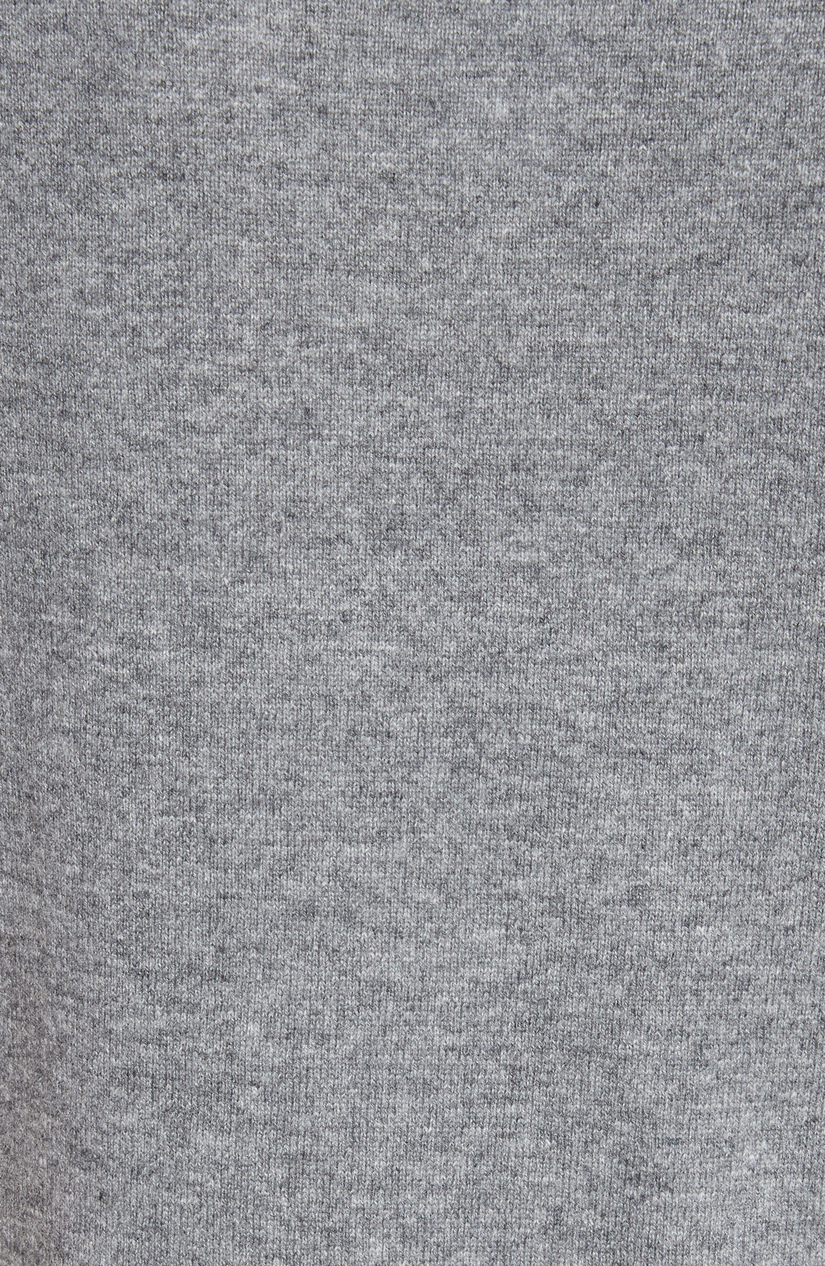 Wool & Cashmere Knit Top,                             Alternate thumbnail 5, color,                             Stone
