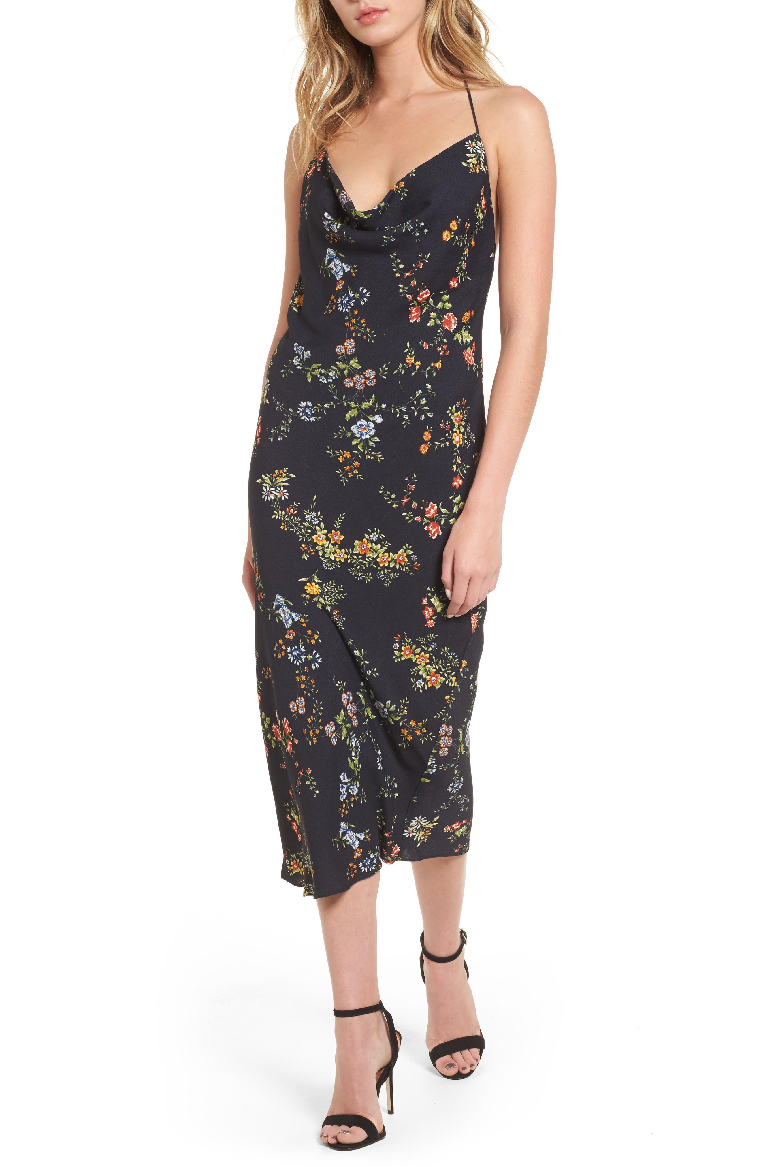 Alternate Image 1 Selected - AFRM Rowland Midi Dress