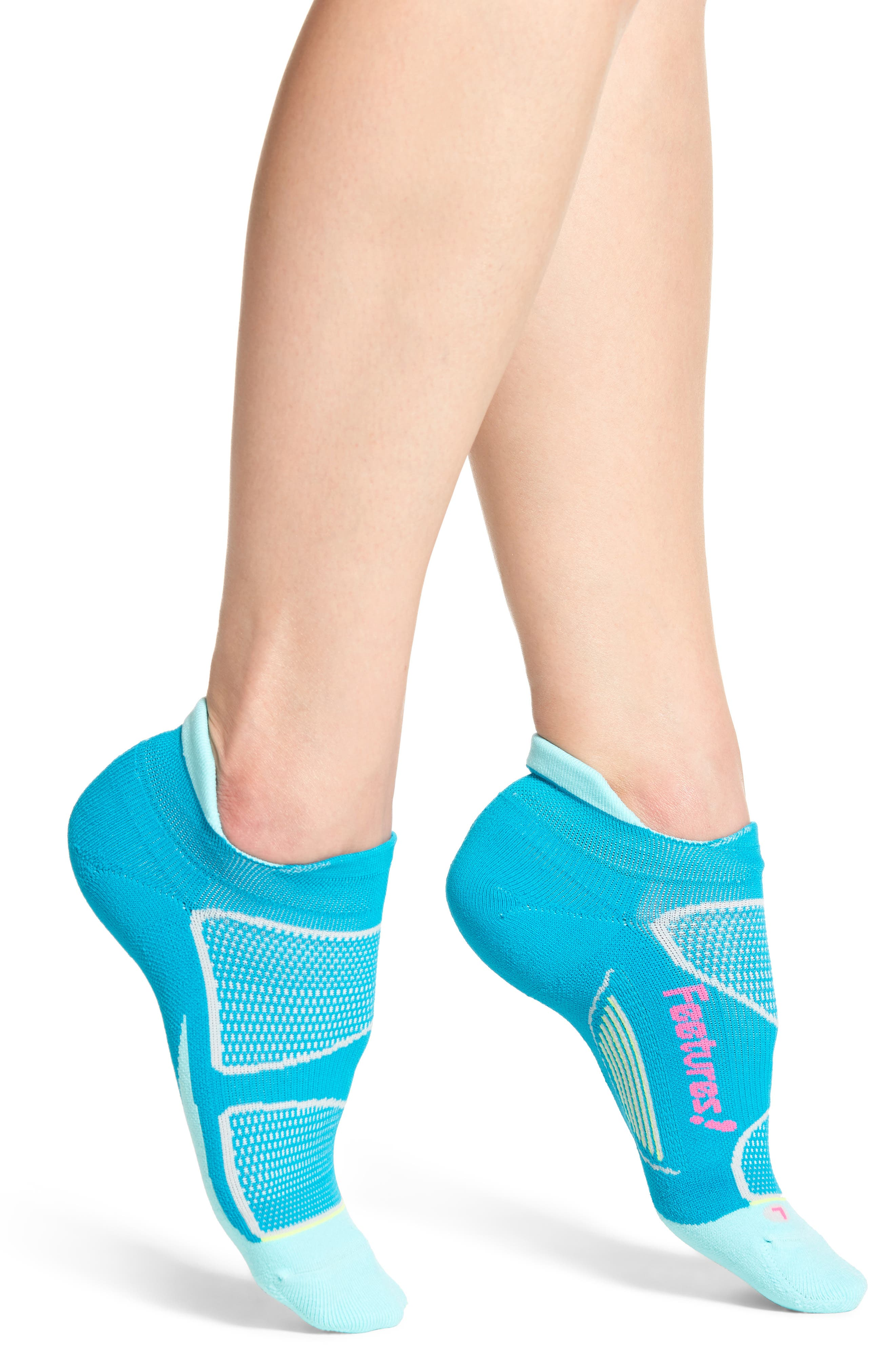 Feetures Elite Light No-Show Running Socks