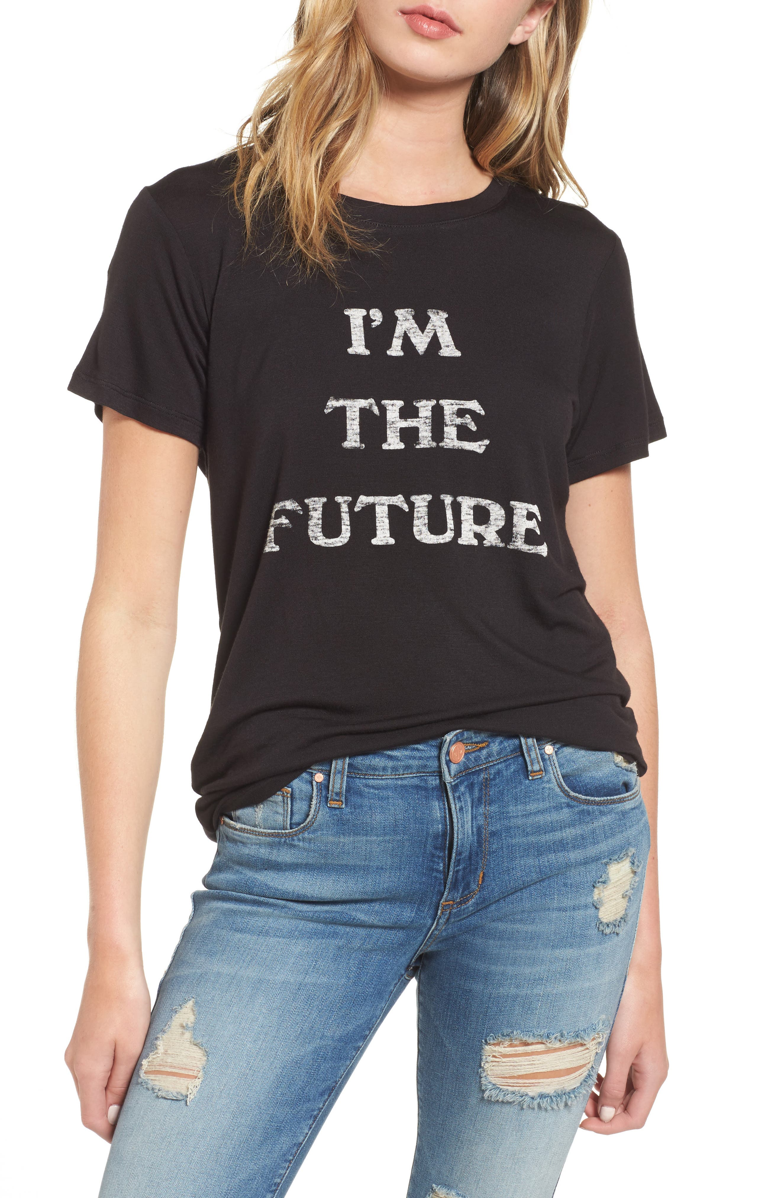 Alternate Image 1 Selected - Daydreamer I'm the Future Graphic Tee