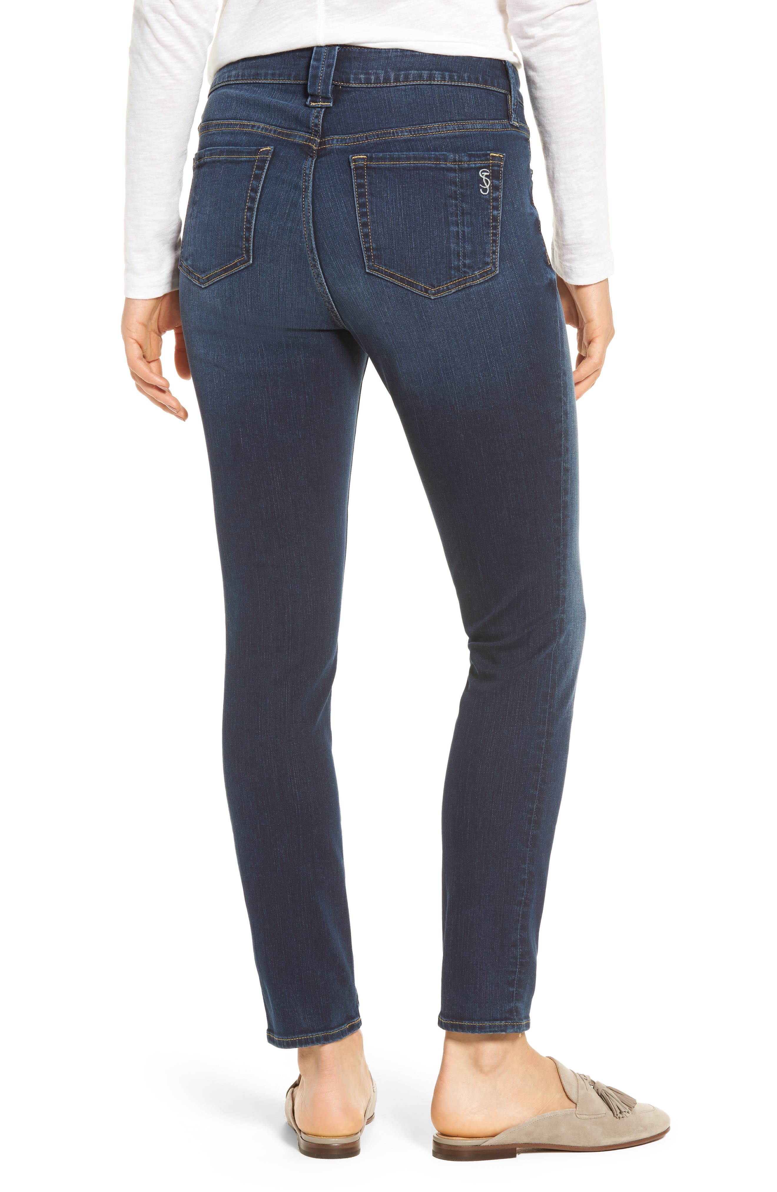 Slim Jeans,                             Alternate thumbnail 2, color,                             Danielle