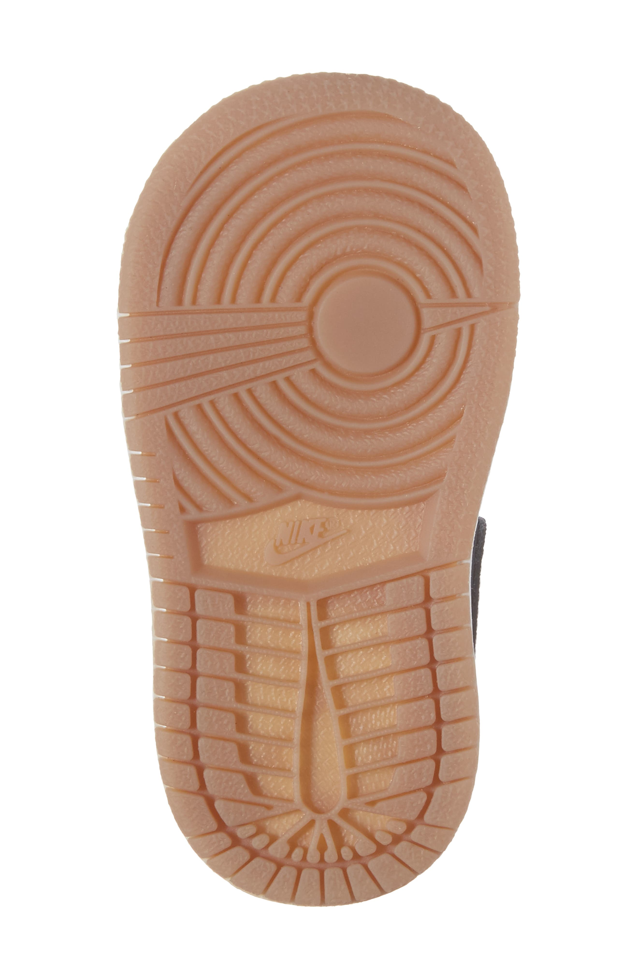 Alternate Image 6  - Nike 'Air Jordan 1' Mid Sneaker (Baby, Walker & Toddler)