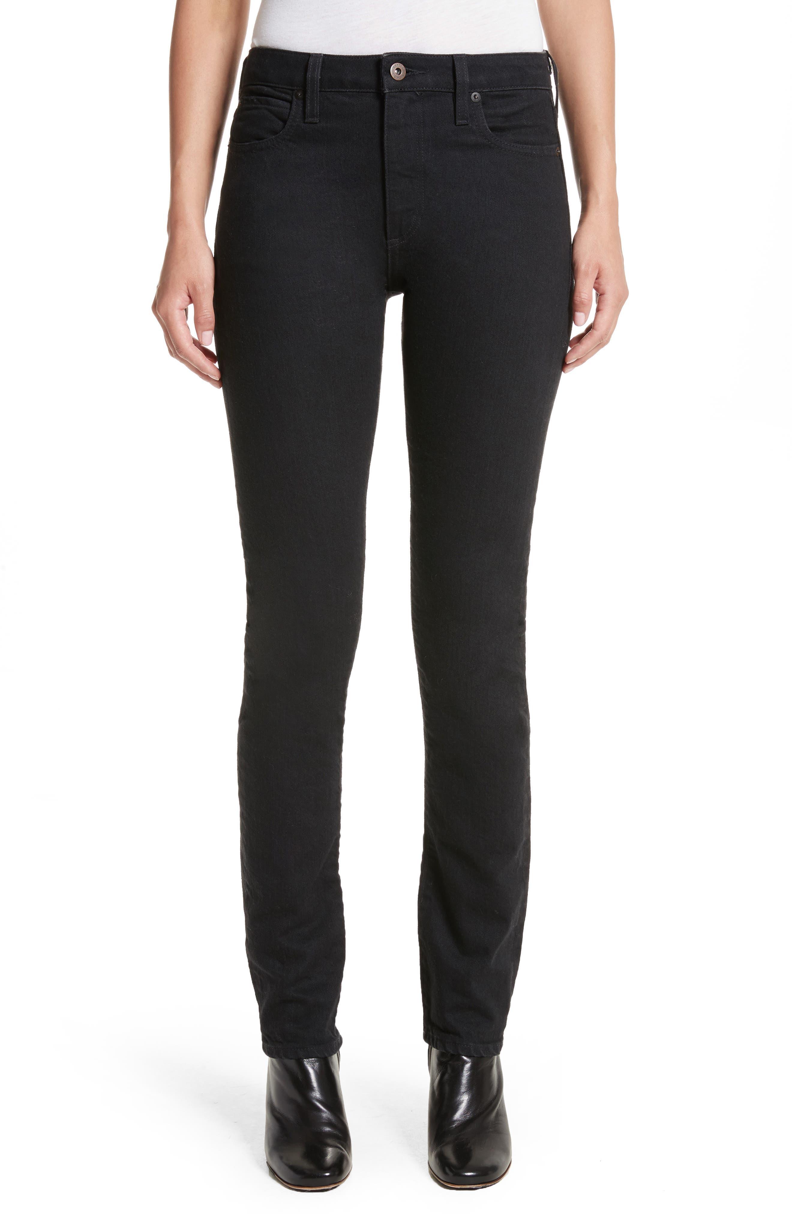 Boyd High Rise Jeans,                             Main thumbnail 1, color,                             Black