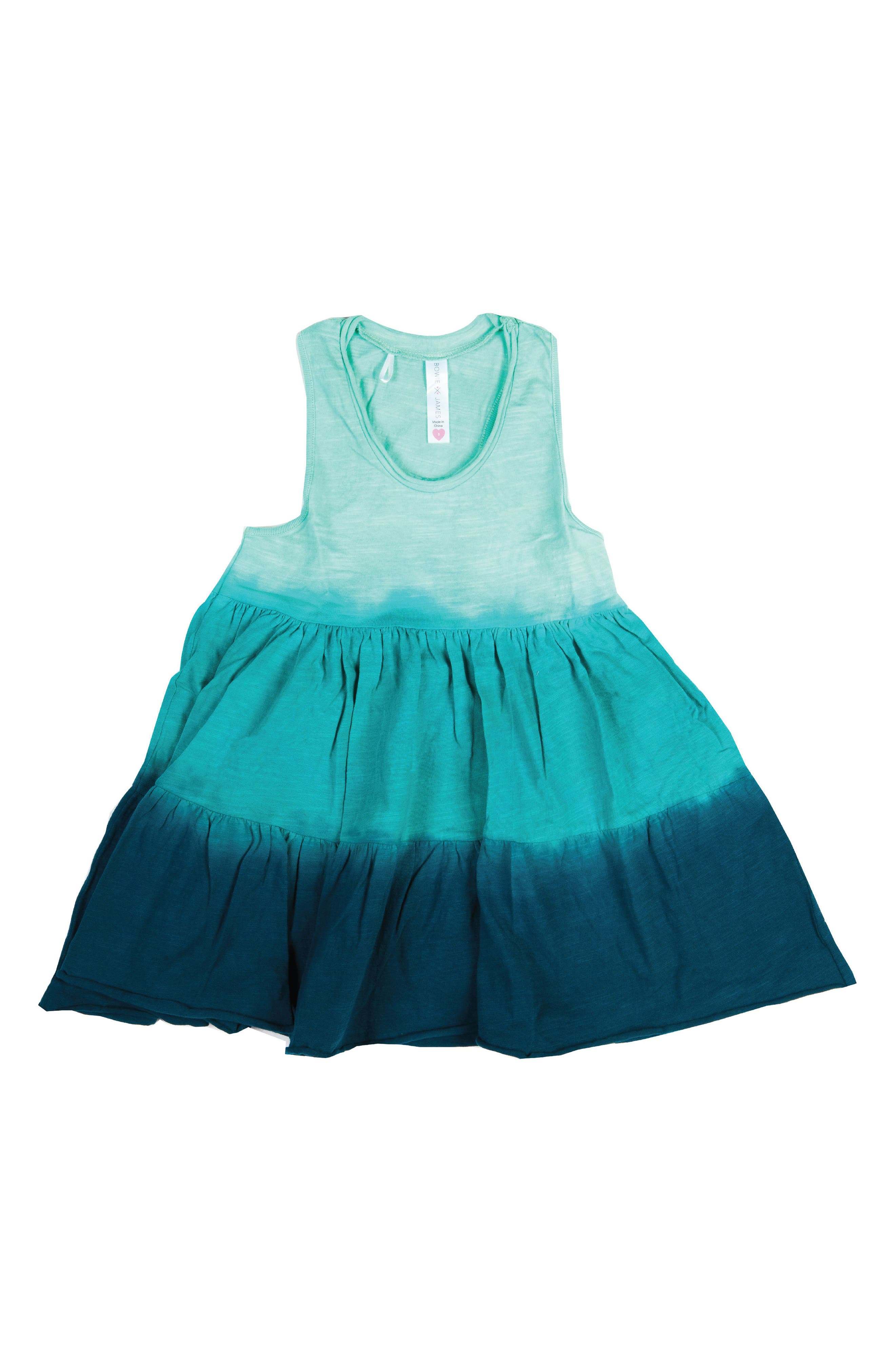 BOWIE X JAMES Dip Dye Swing Tank (Toddler Girls, Little Girls & Big Girls)