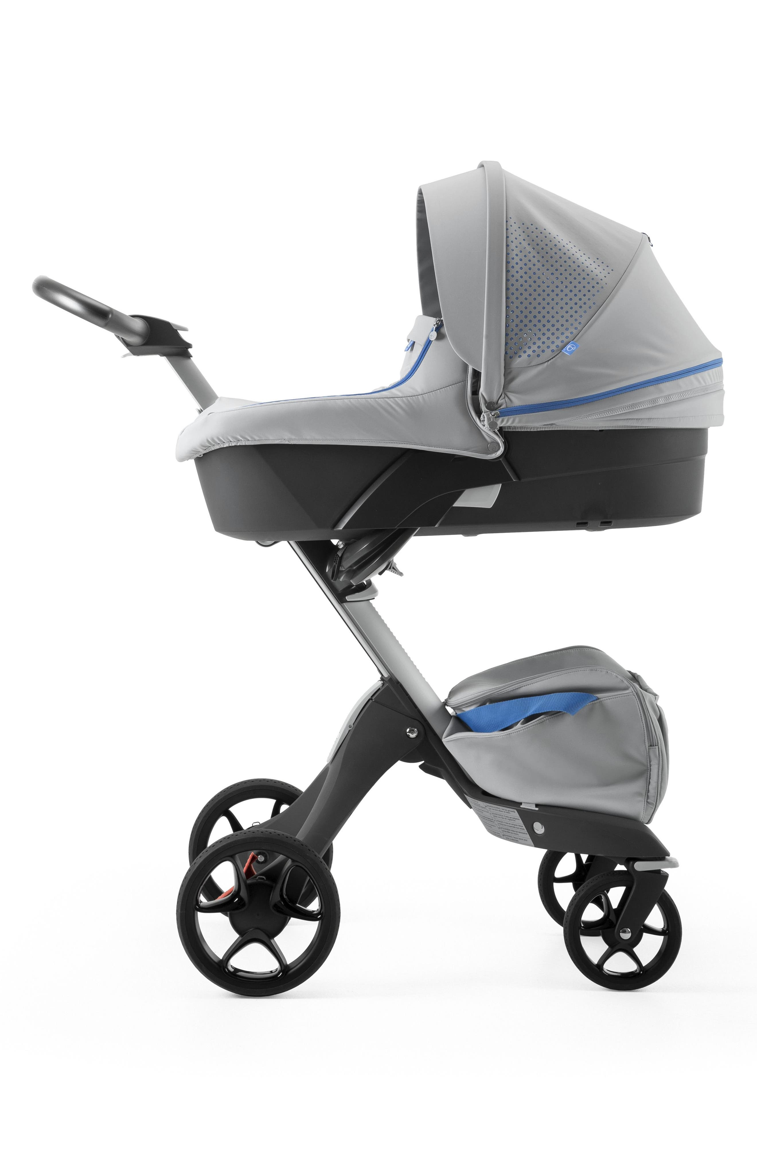 Xplory<sup>®</sup> Athleisure Stroller Carry Cot Attachment,                             Main thumbnail 1, color,                             Marina