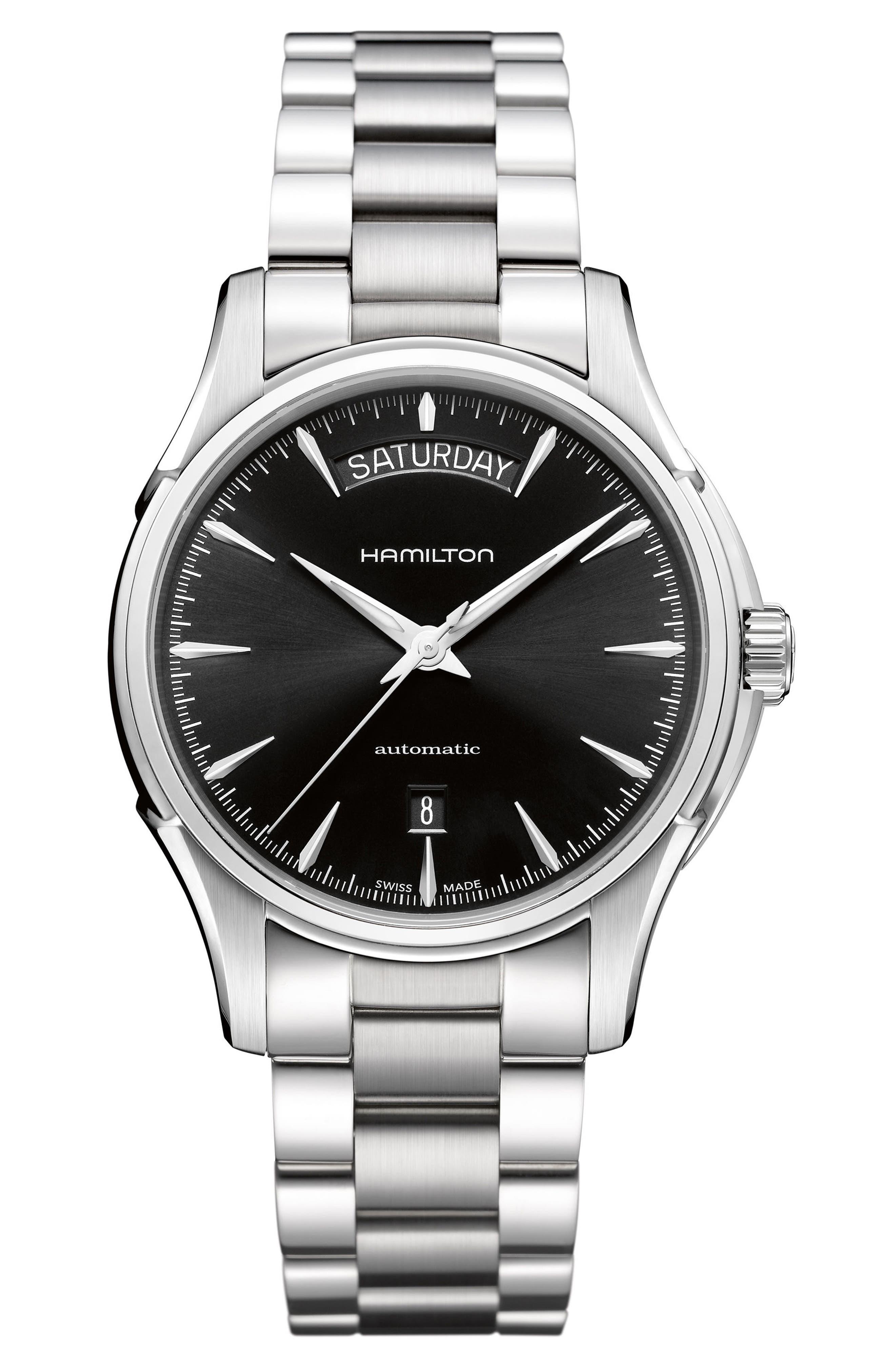 Alternate Image 1 Selected - Hamilton Jazzmaster Automatic Bracelet Watch, 40mm