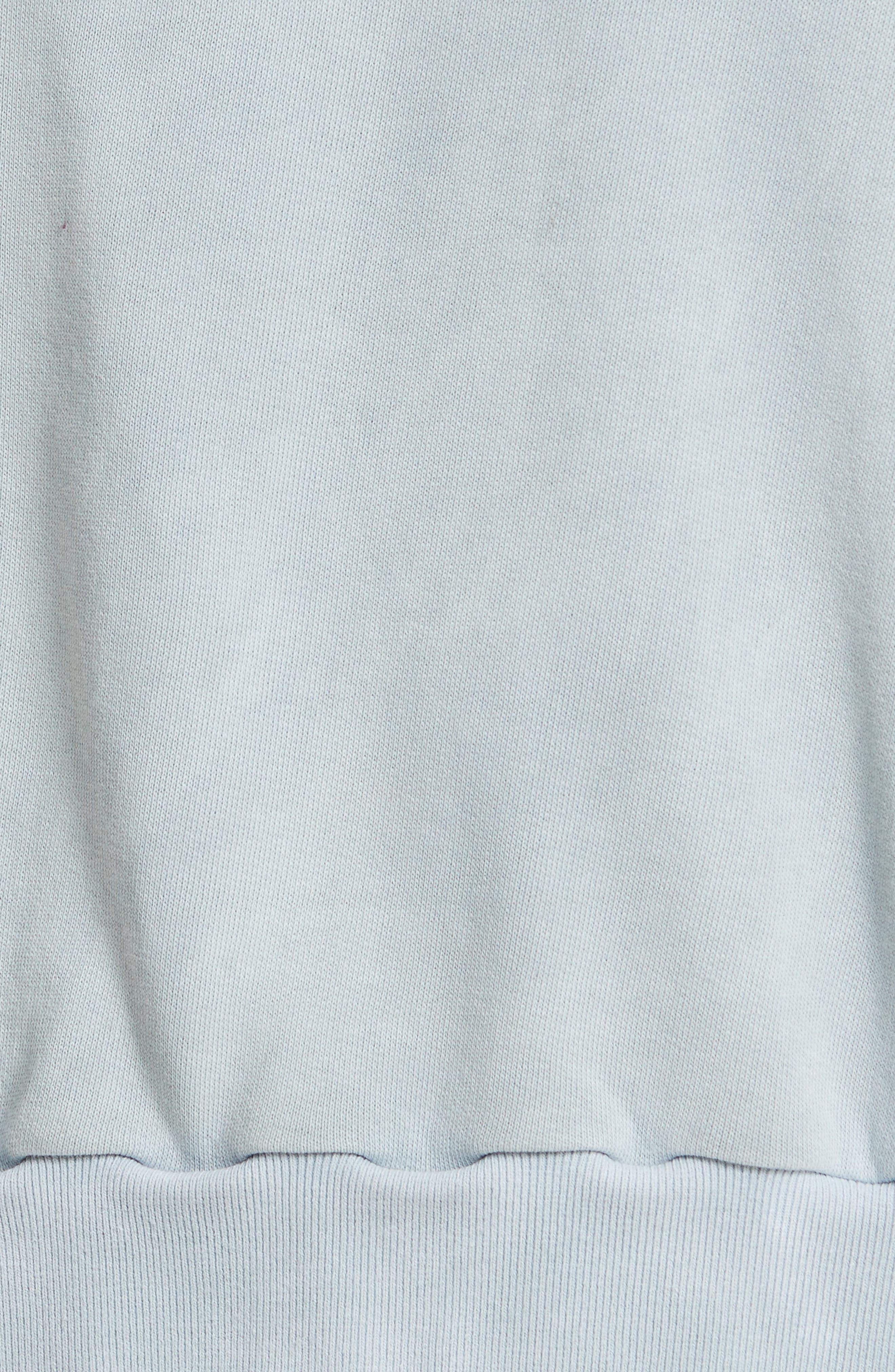 Alternate Image 5  - Rebecca Taylor Balloon Sleeve Fleece Pullover