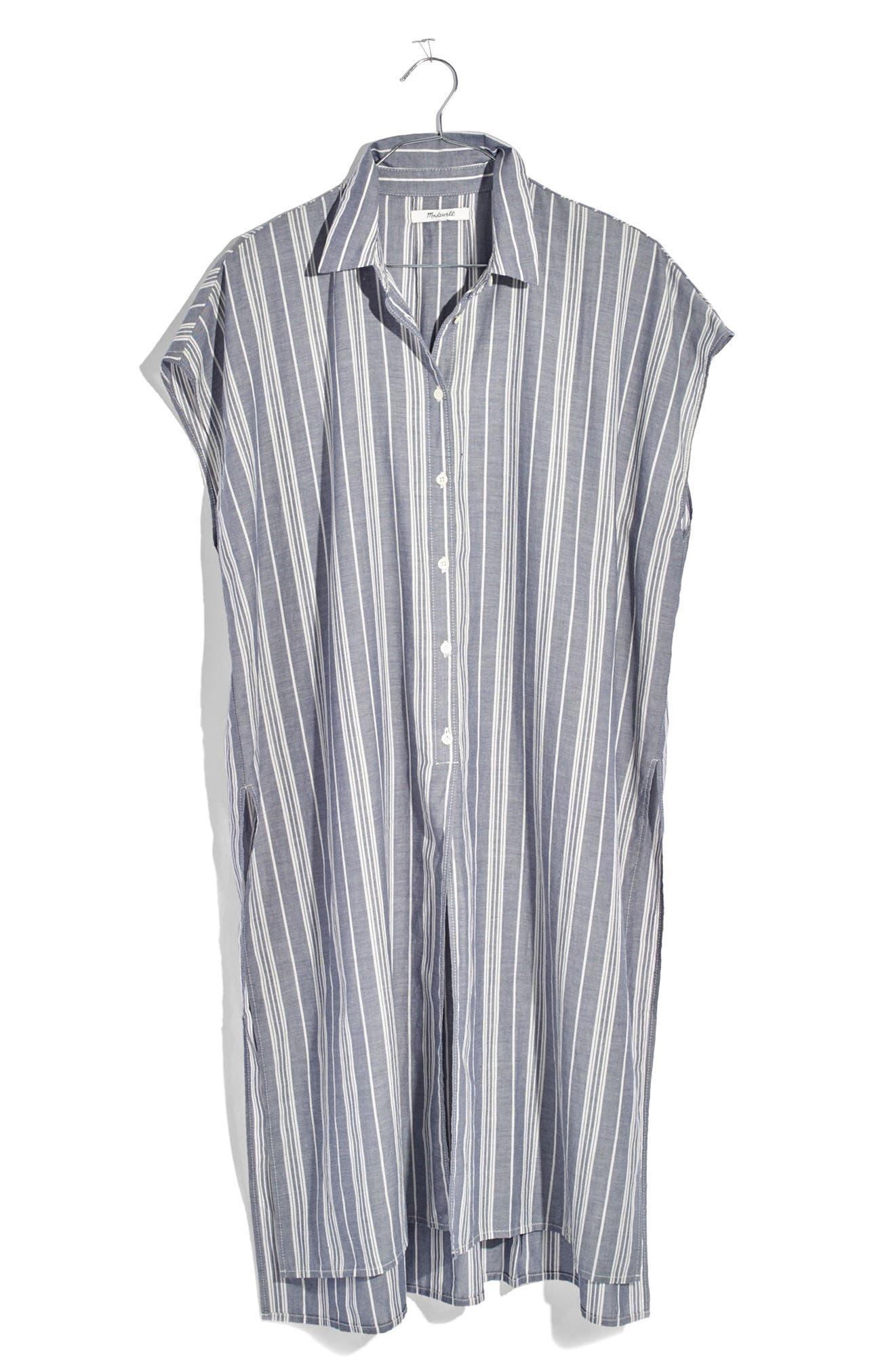 Alternate Image 4  - Madewell Side Slit Tunic Shirt