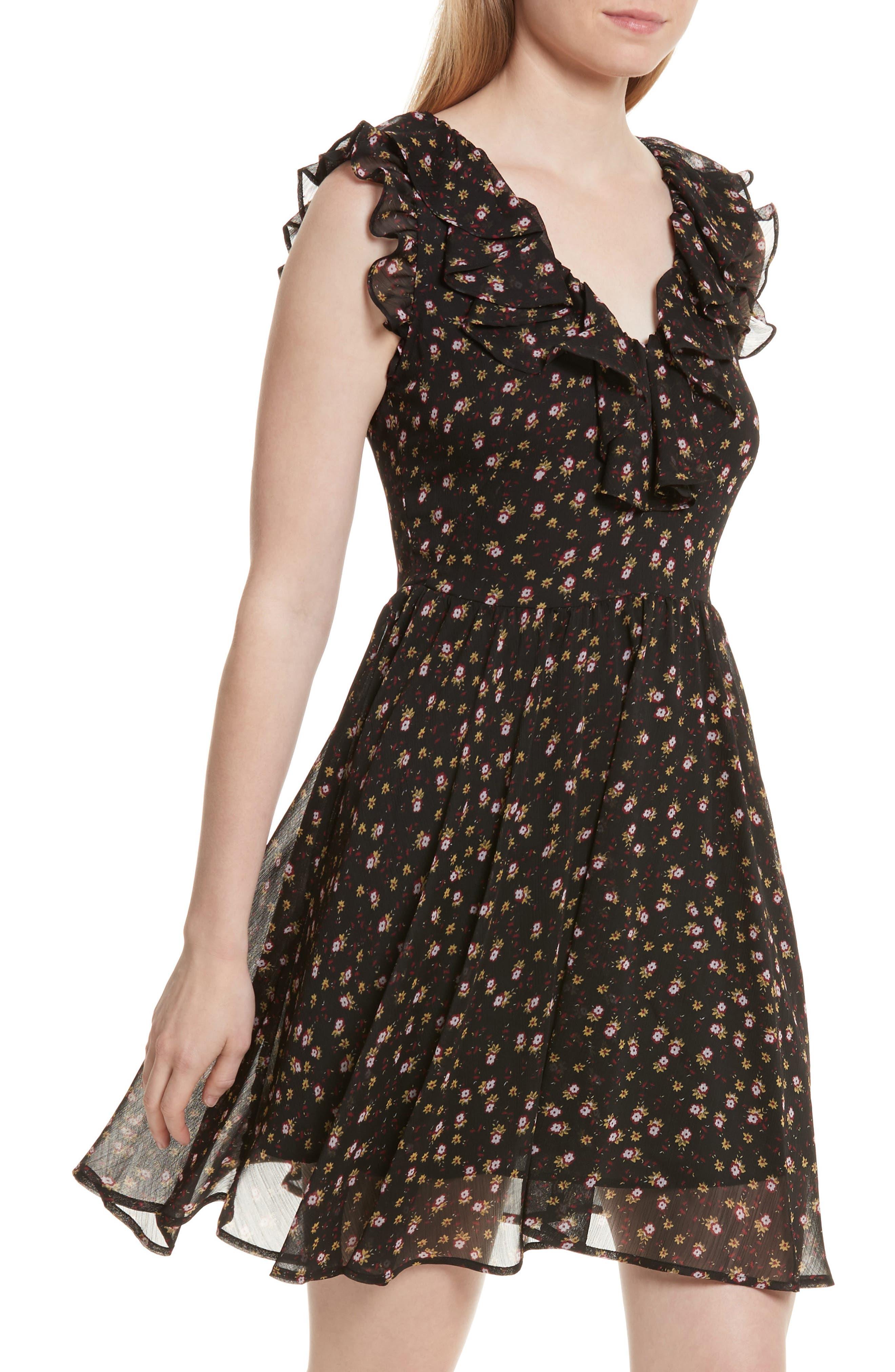 Alternate Image 4  - Rebecca Minkoff Brista Fit & Flare Dress