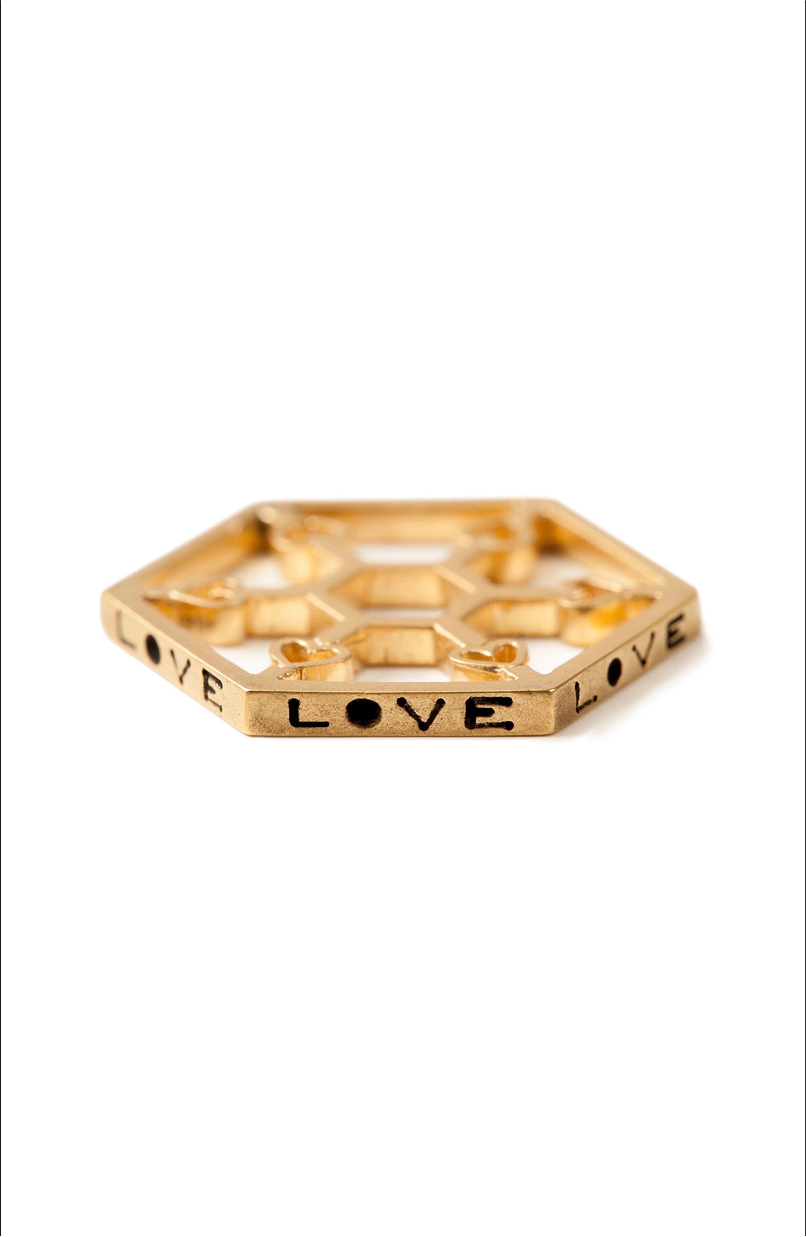 Petalbox Token of Love Enhancer,                             Alternate thumbnail 8, color,                             Gold