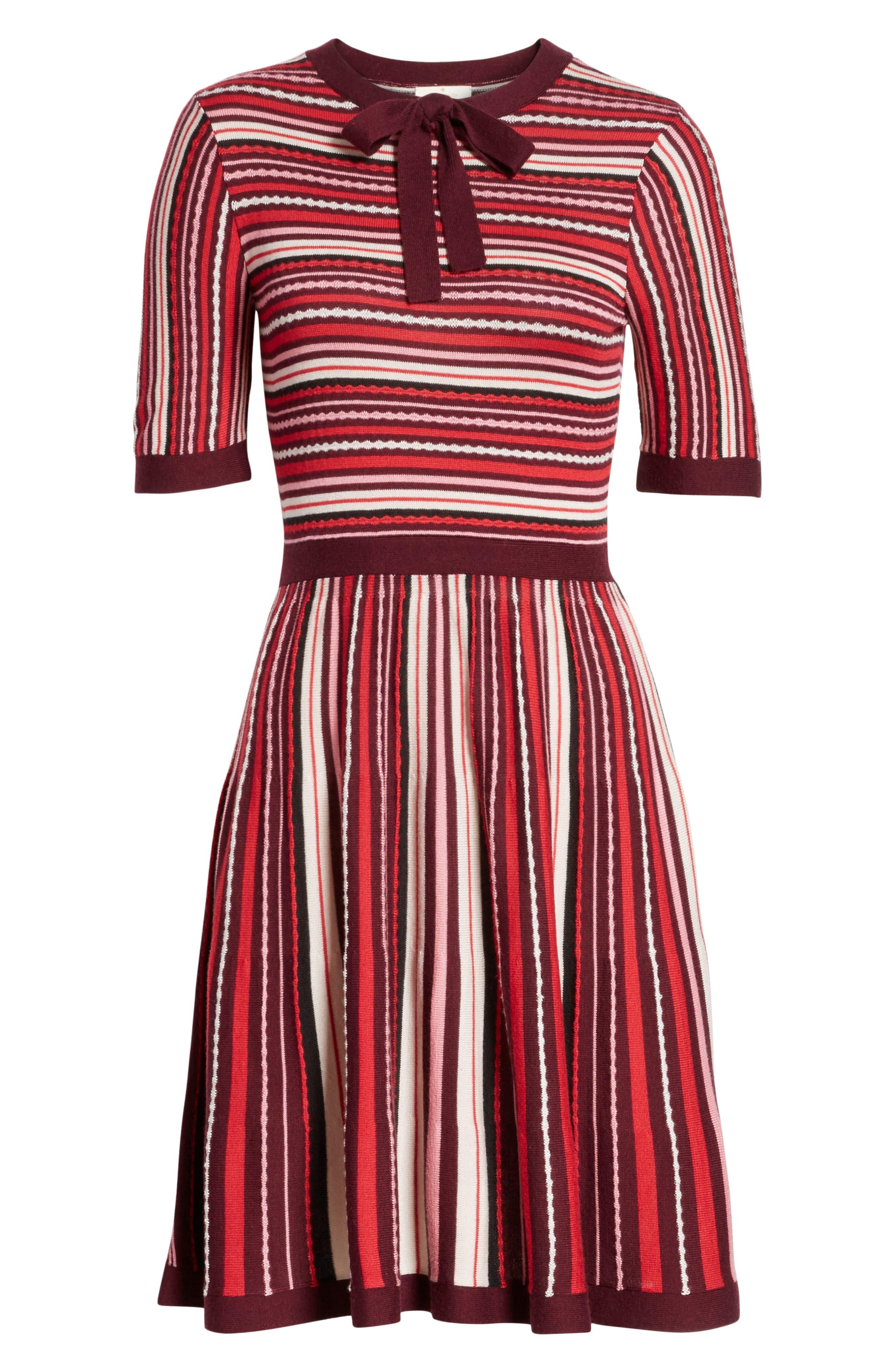 Alternate Image 6  - kate spade new york stripe sweater dress