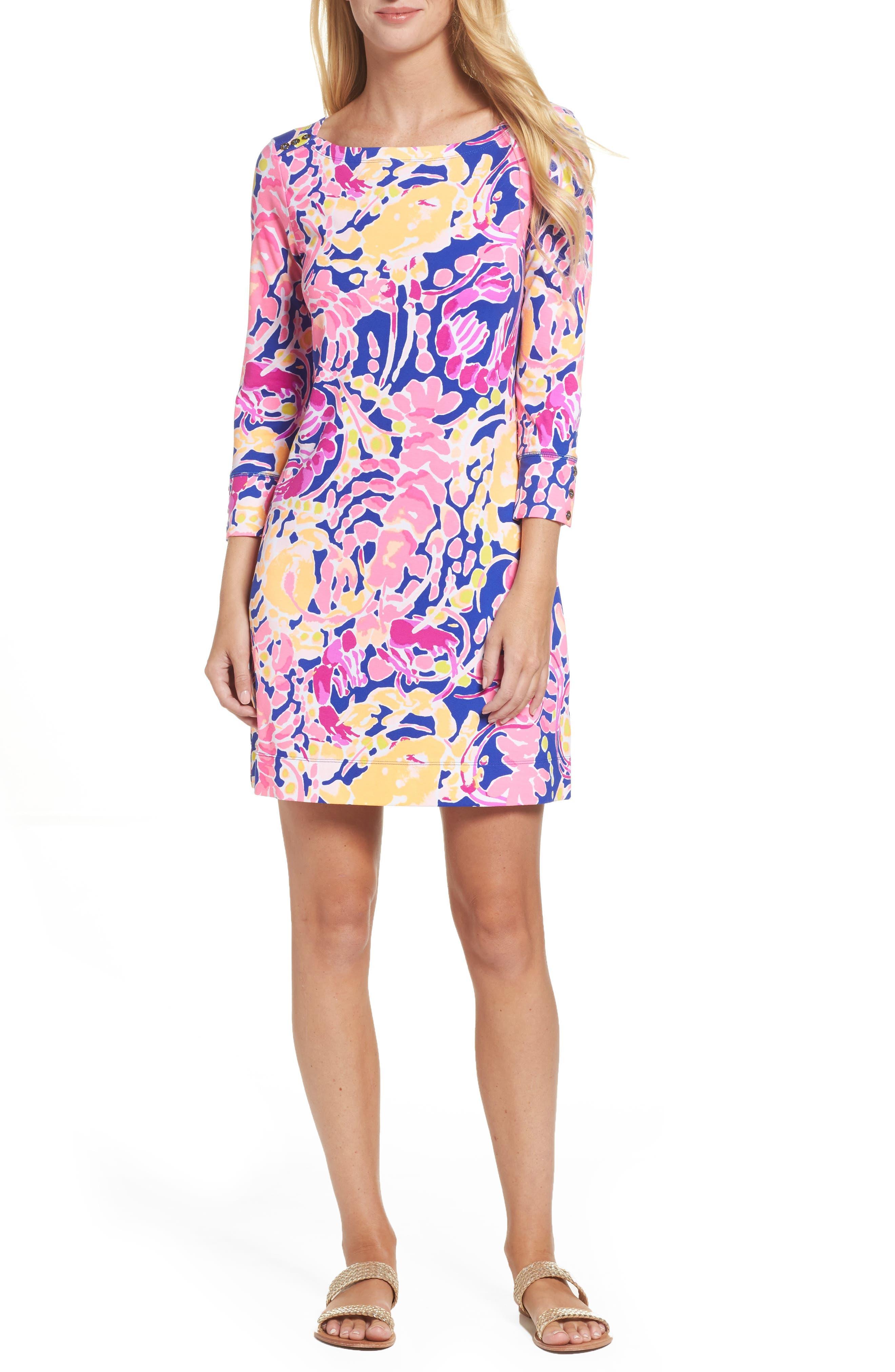 Sophie UPF 50+ Dress,                         Main,                         color, Brilliant Blue