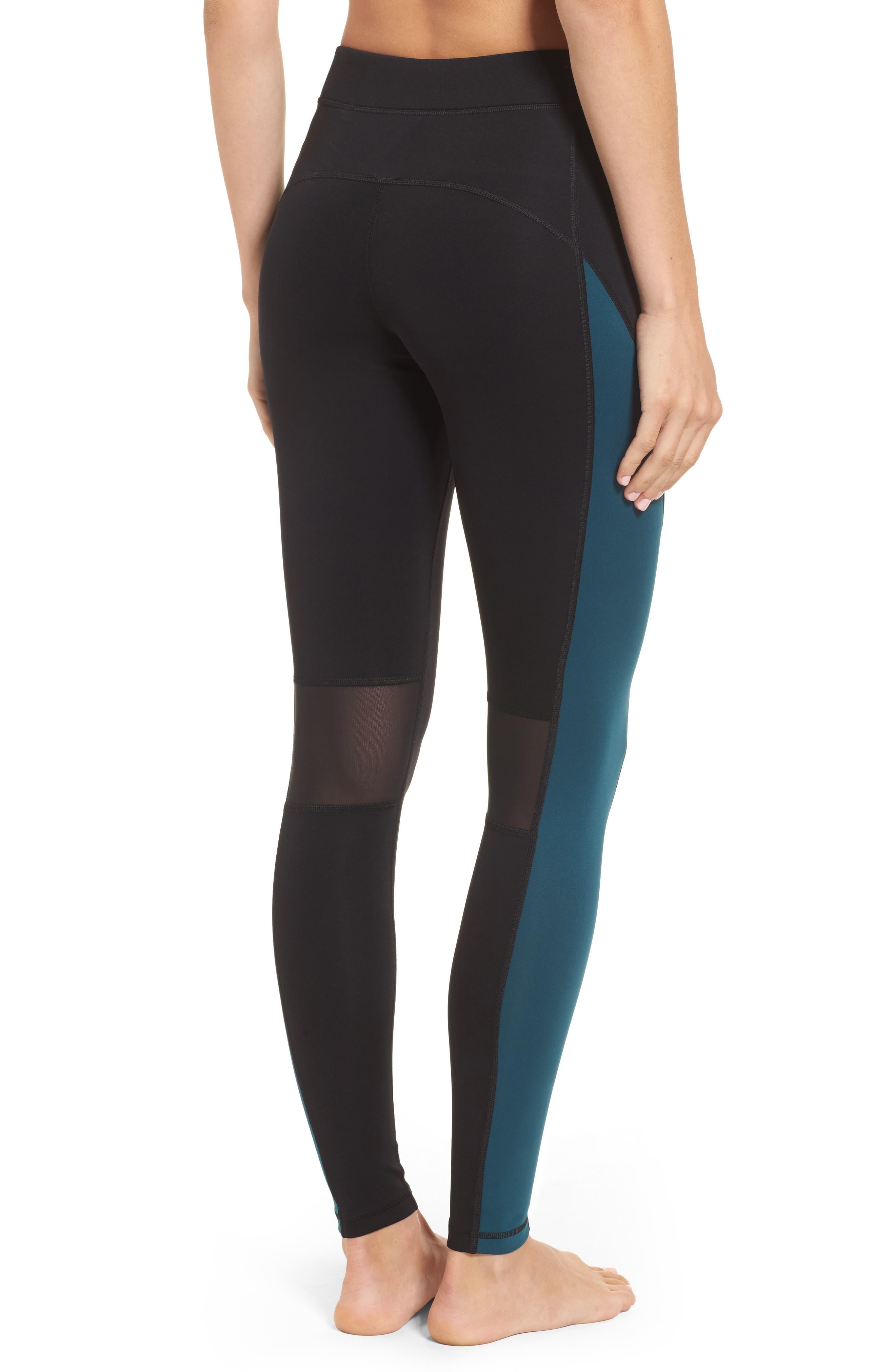 Alternate Image 2  - IVY PARK® Logo Block Mid Rise Ankle Leggings