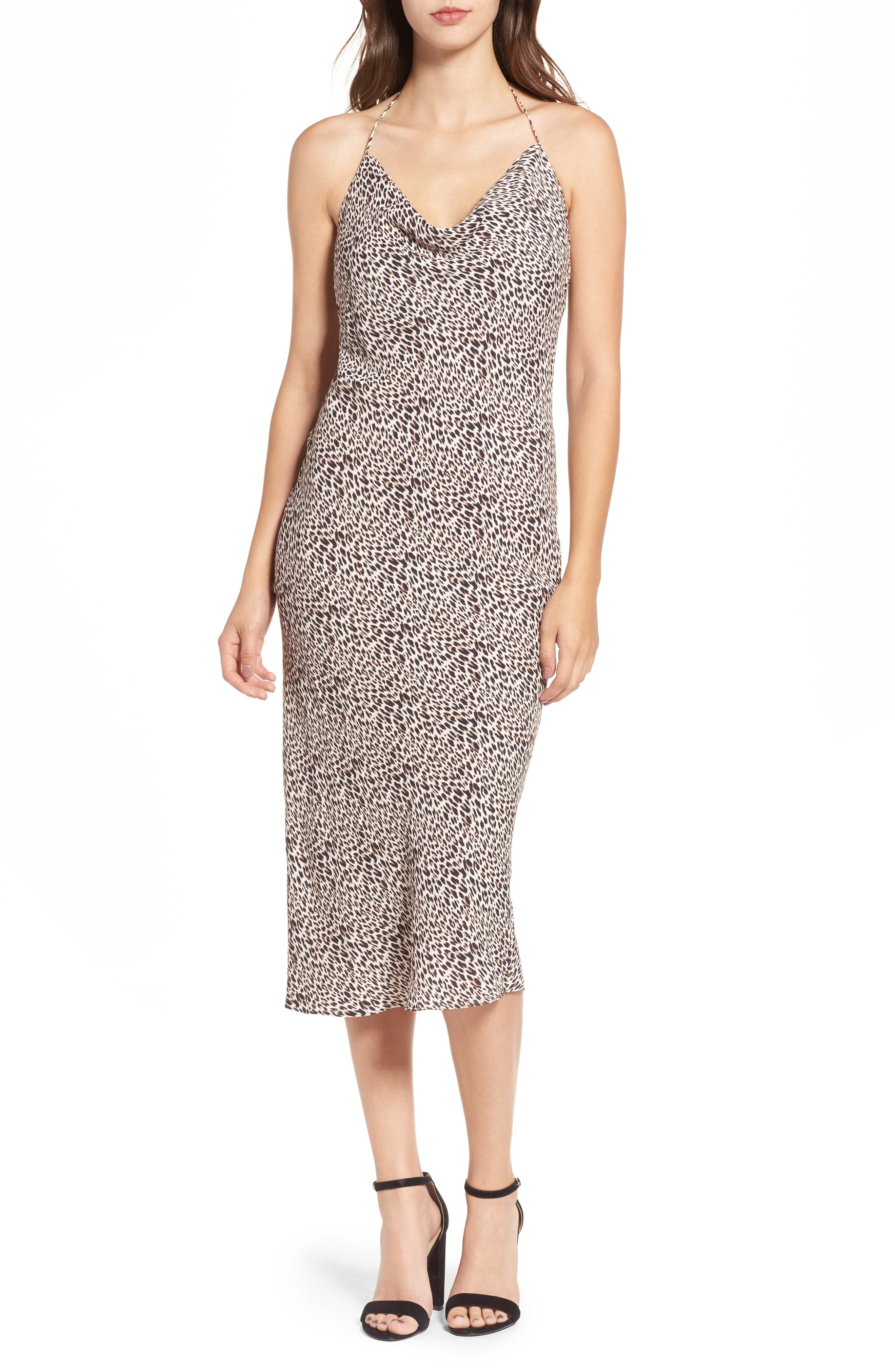 Alternate Image 1 Selected - AFRM Rowland Midi Dress