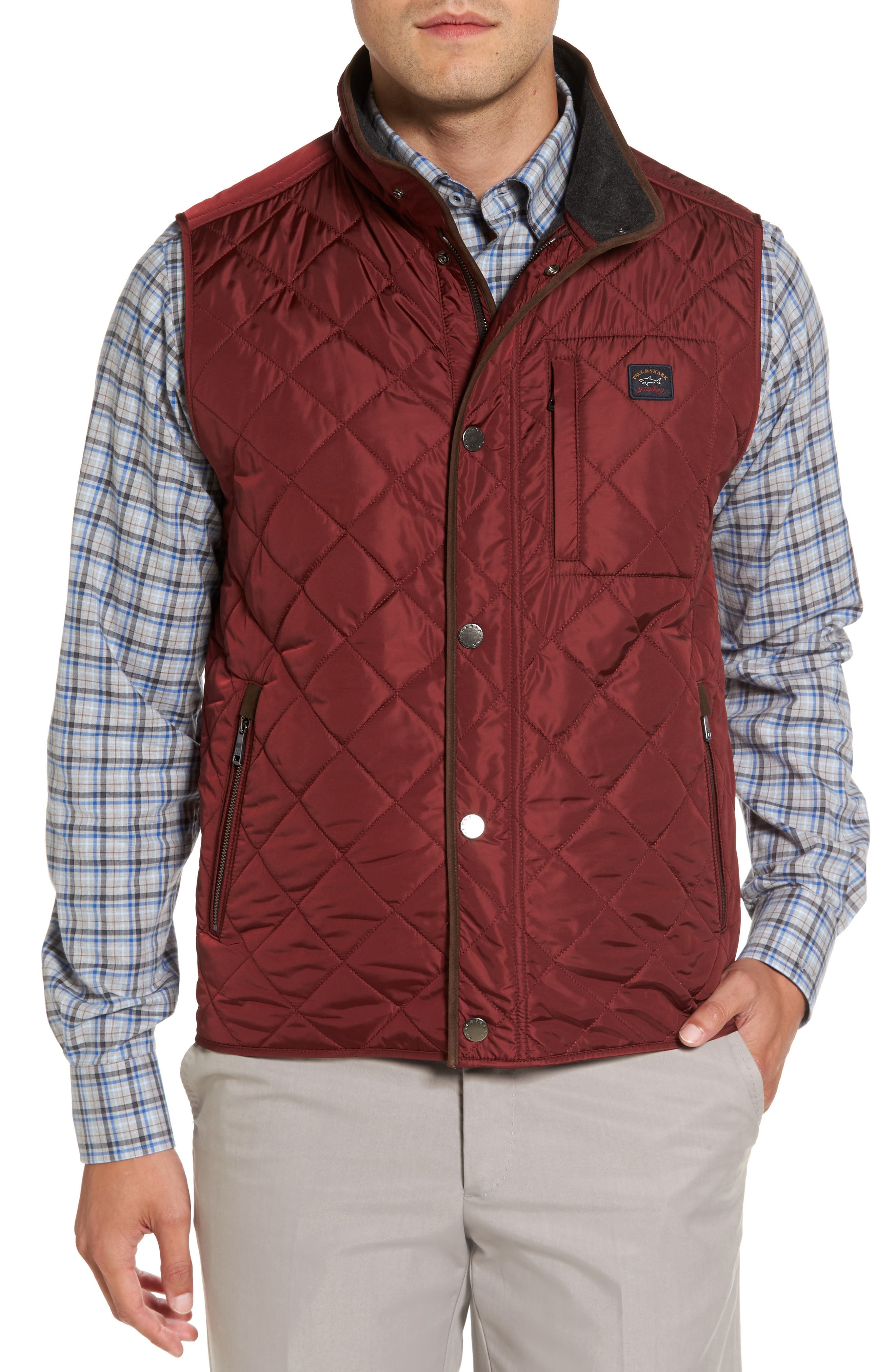 Paul & Shark Quilted Vest