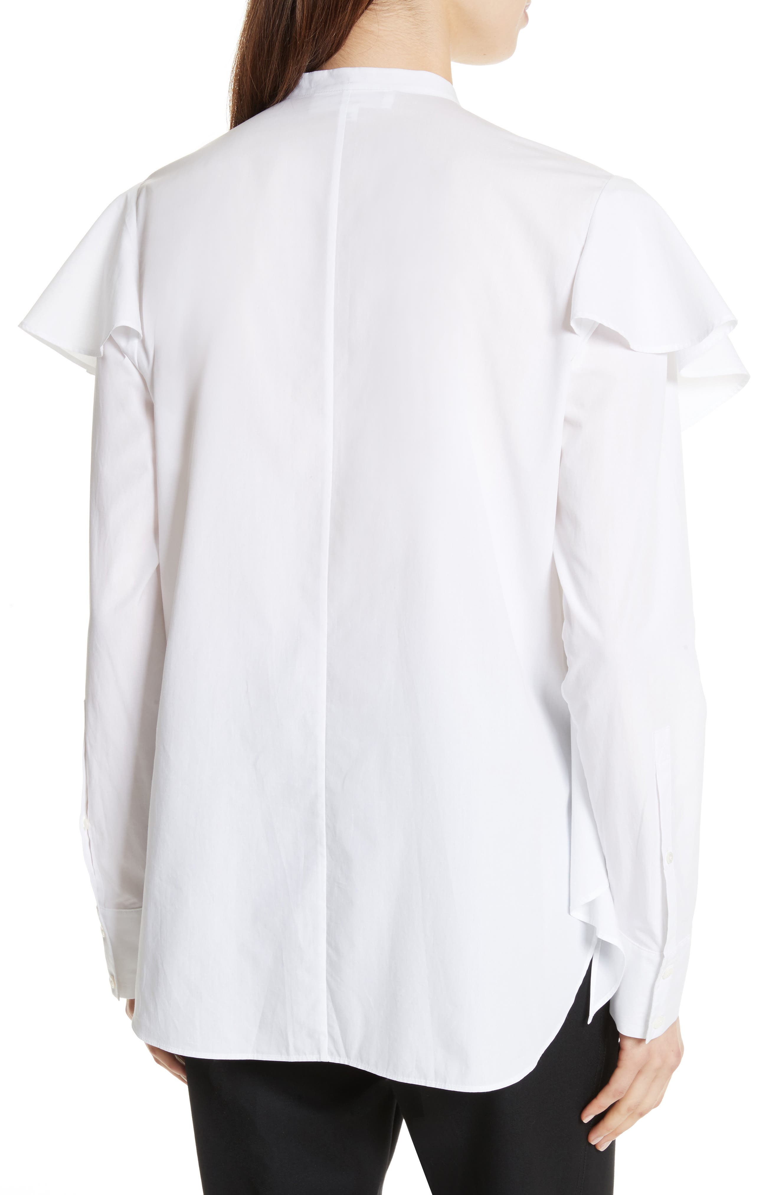 Alternate Image 2  - Robert Rodriguez Ruffle Cotton Shirt