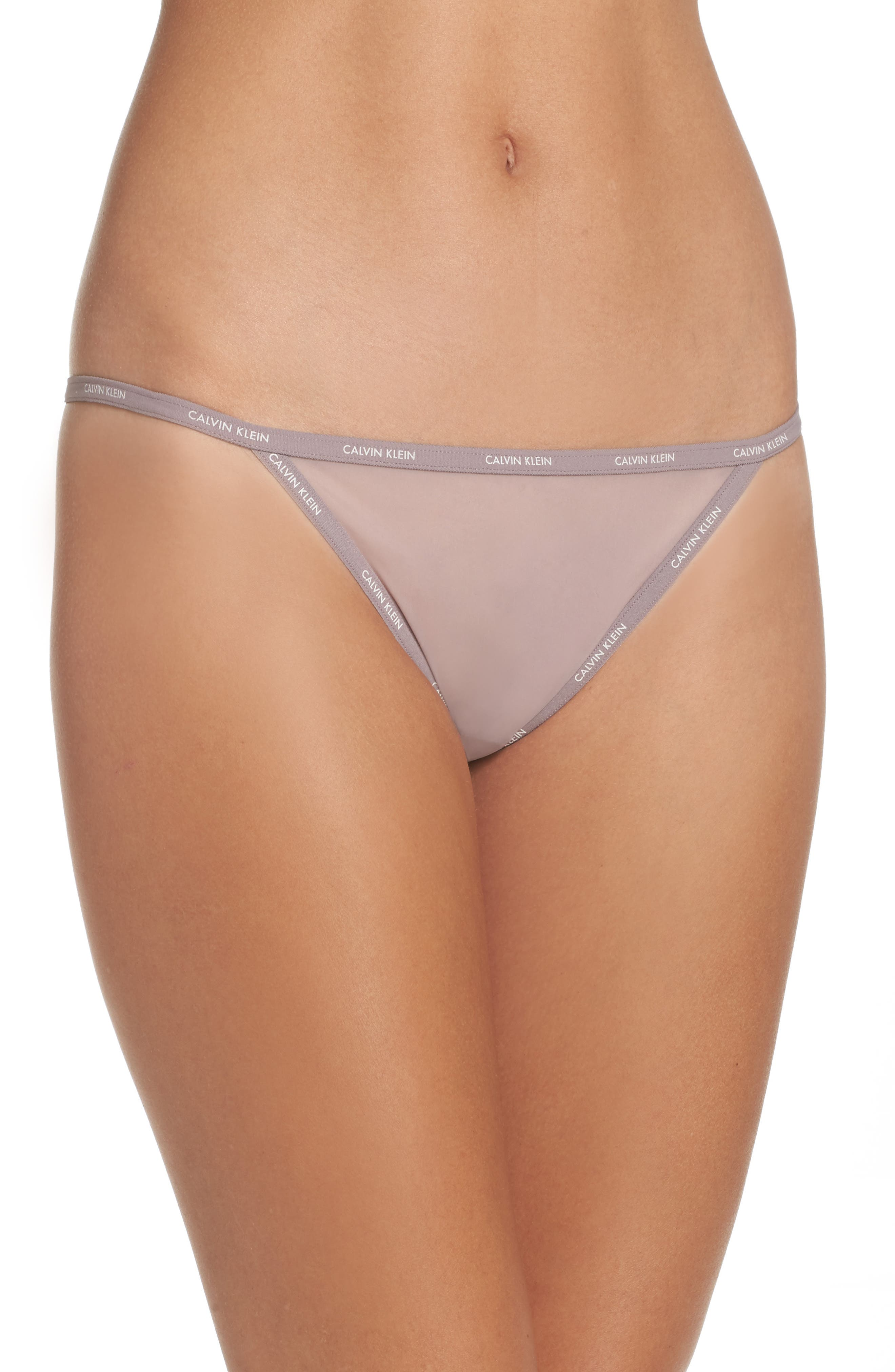 Marquisette String Thong,                         Main,                         color, Violet Dust