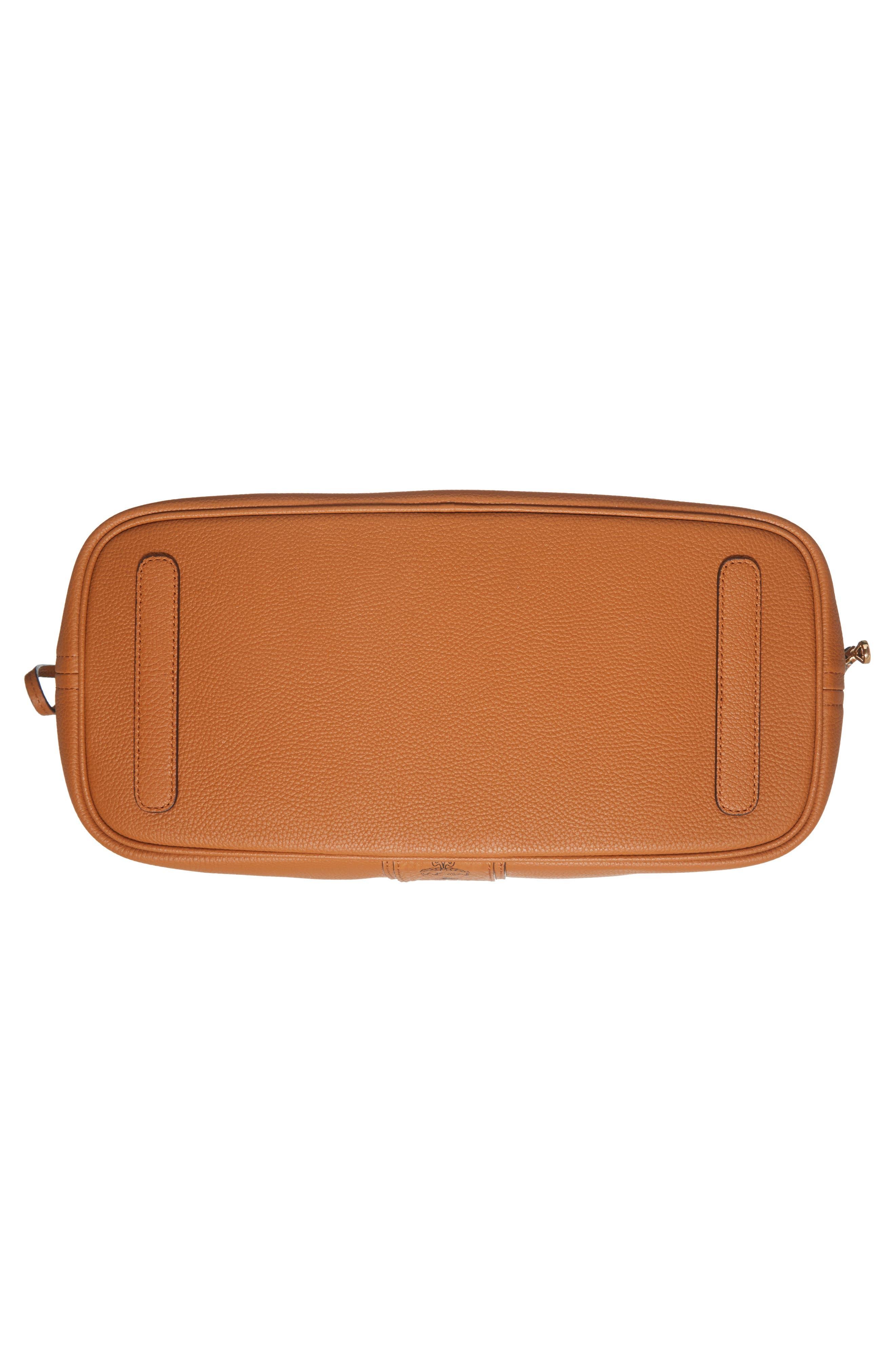 Alternate Image 7  - MCM Medium Liz Reversible Visetos Leather Shopper