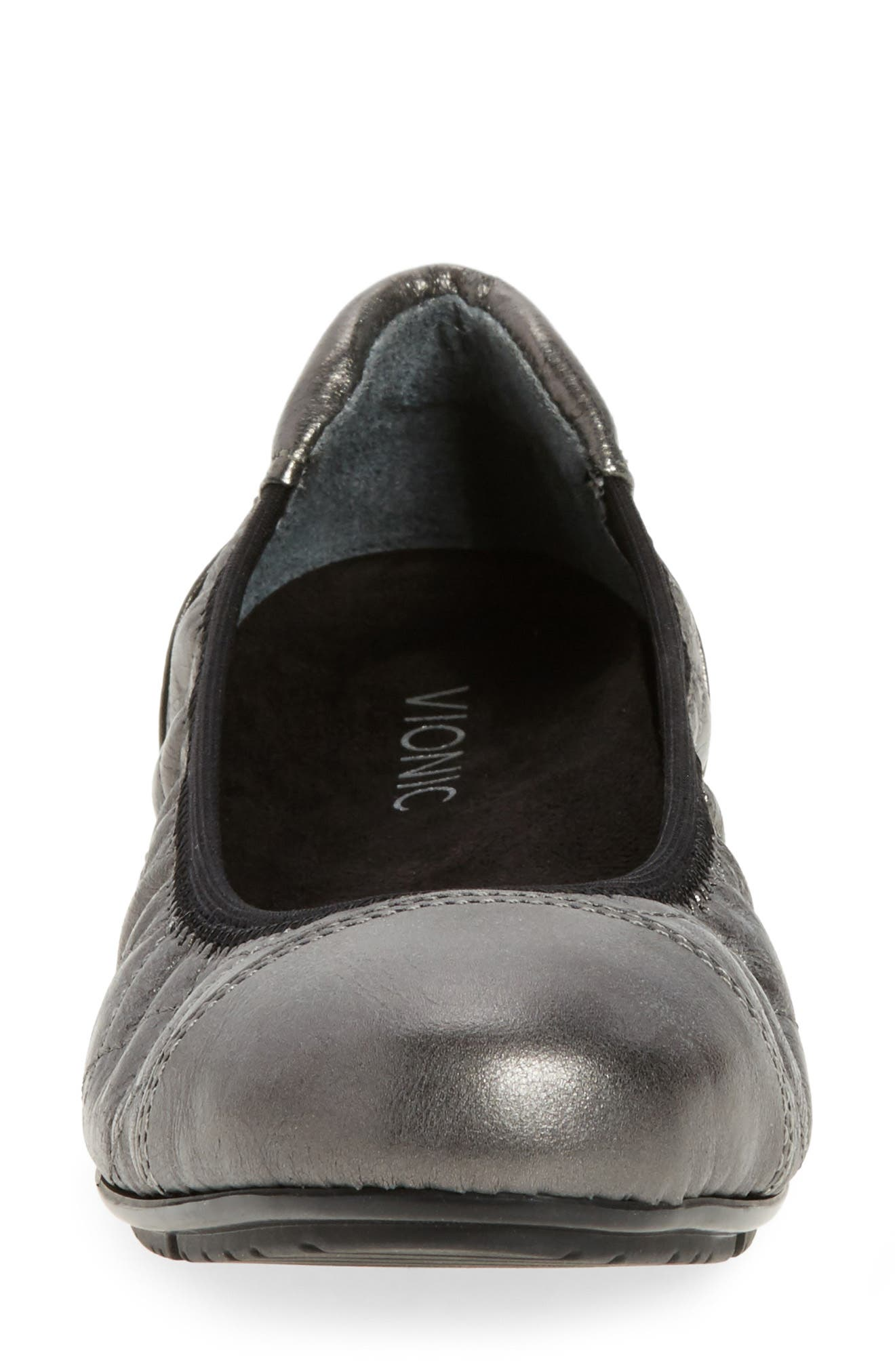 Alternate Image 4  - Vionic Ava Quilted Ballet Flat (Women)