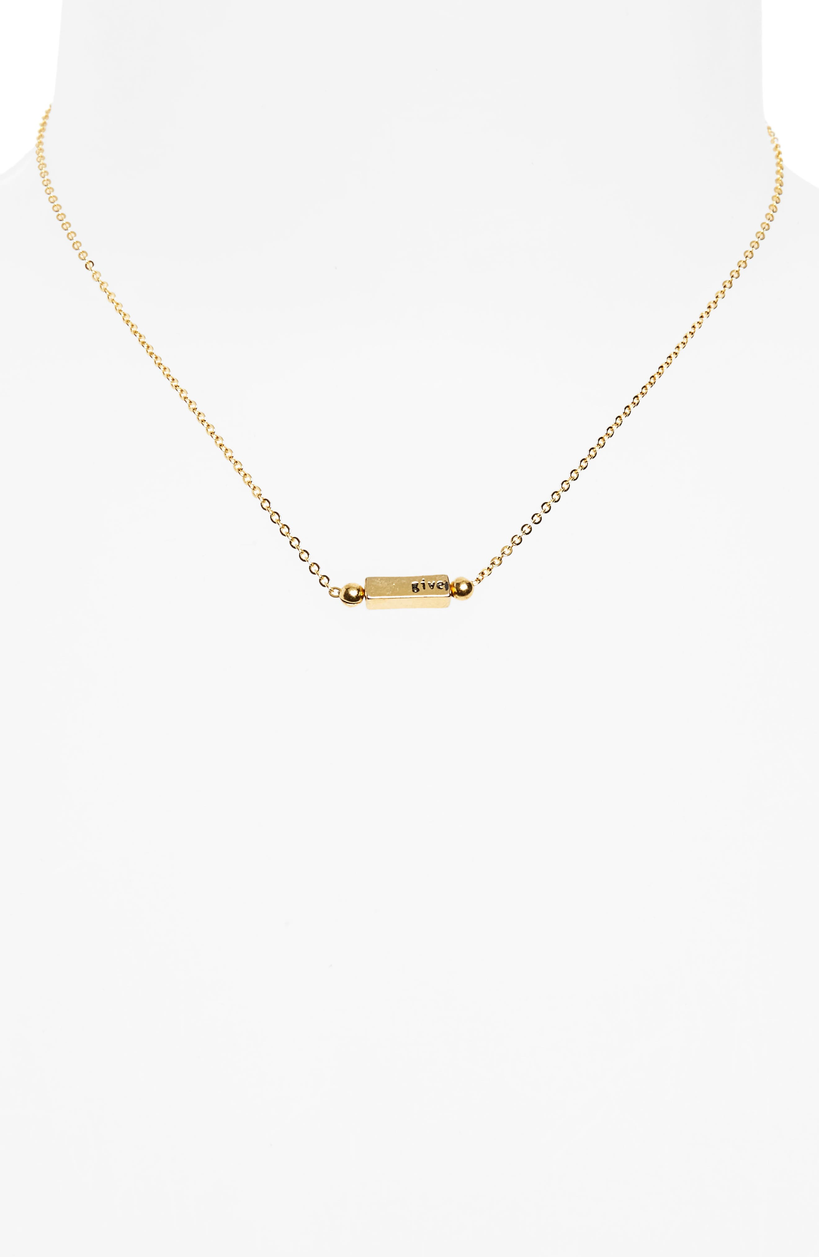 Eileen Necklace,                         Main,                         color, Gold