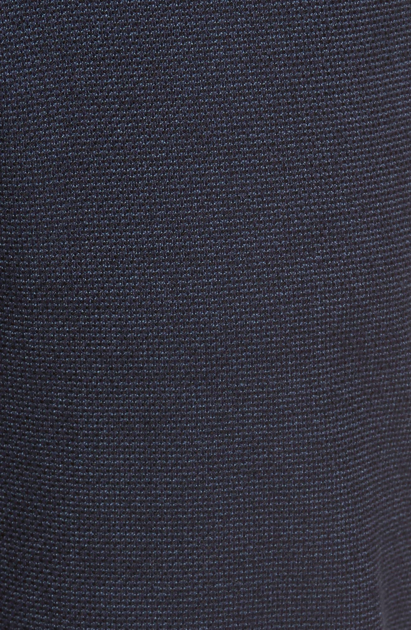 Vince Slim Fit Stretch Five-Pocket Pants,                             Alternate thumbnail 6, color,                             Navy Digital Neat