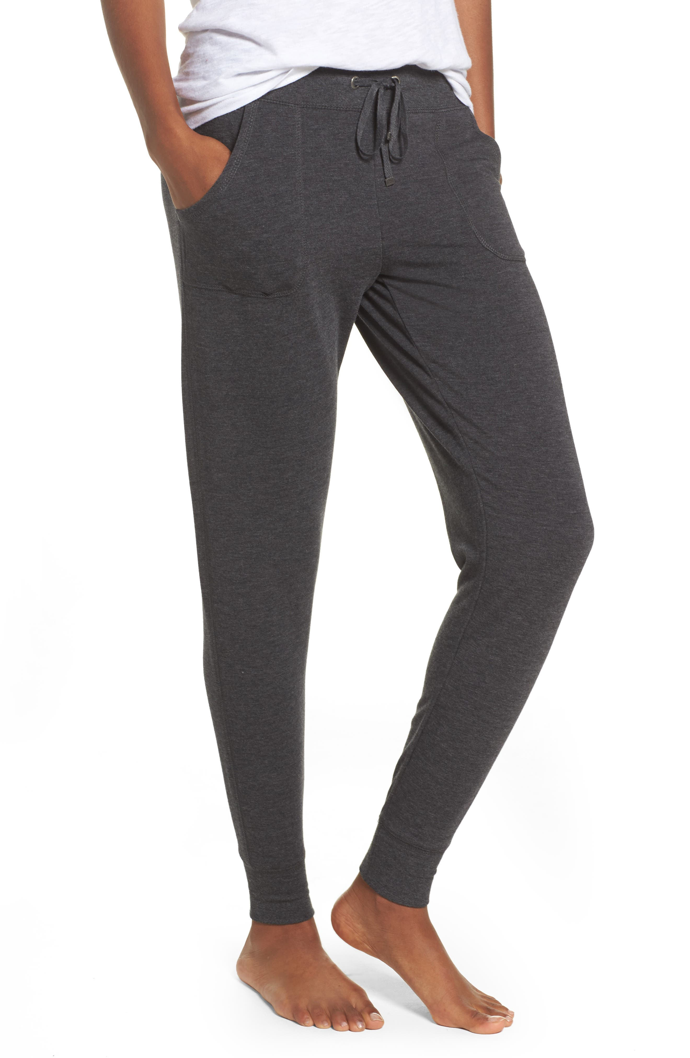 All About It Lounge Pants,                             Main thumbnail 1, color,                             Grey Wolf Heather