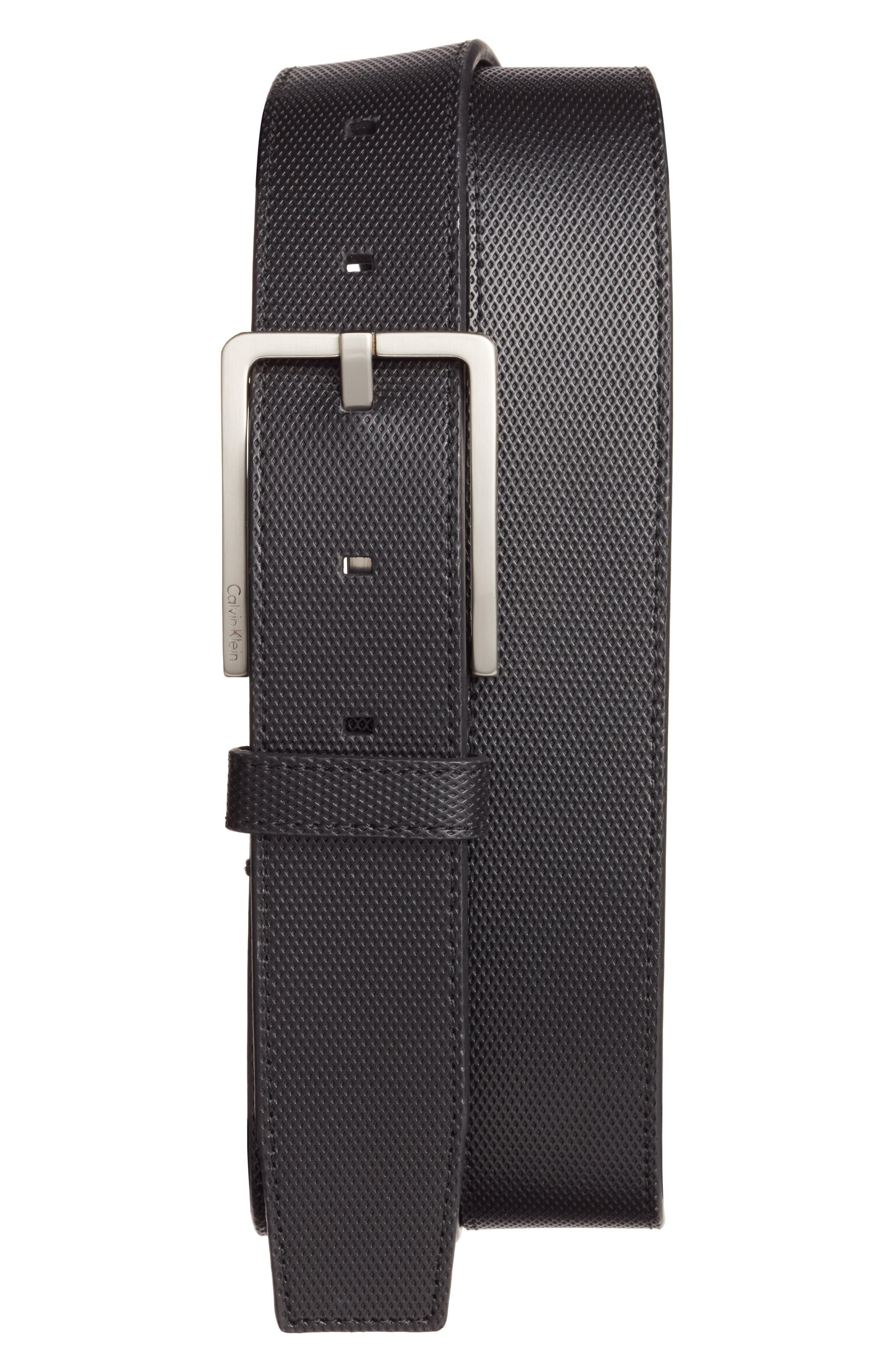CK CALVIN KLEIN Calvin Klein Leather Belt