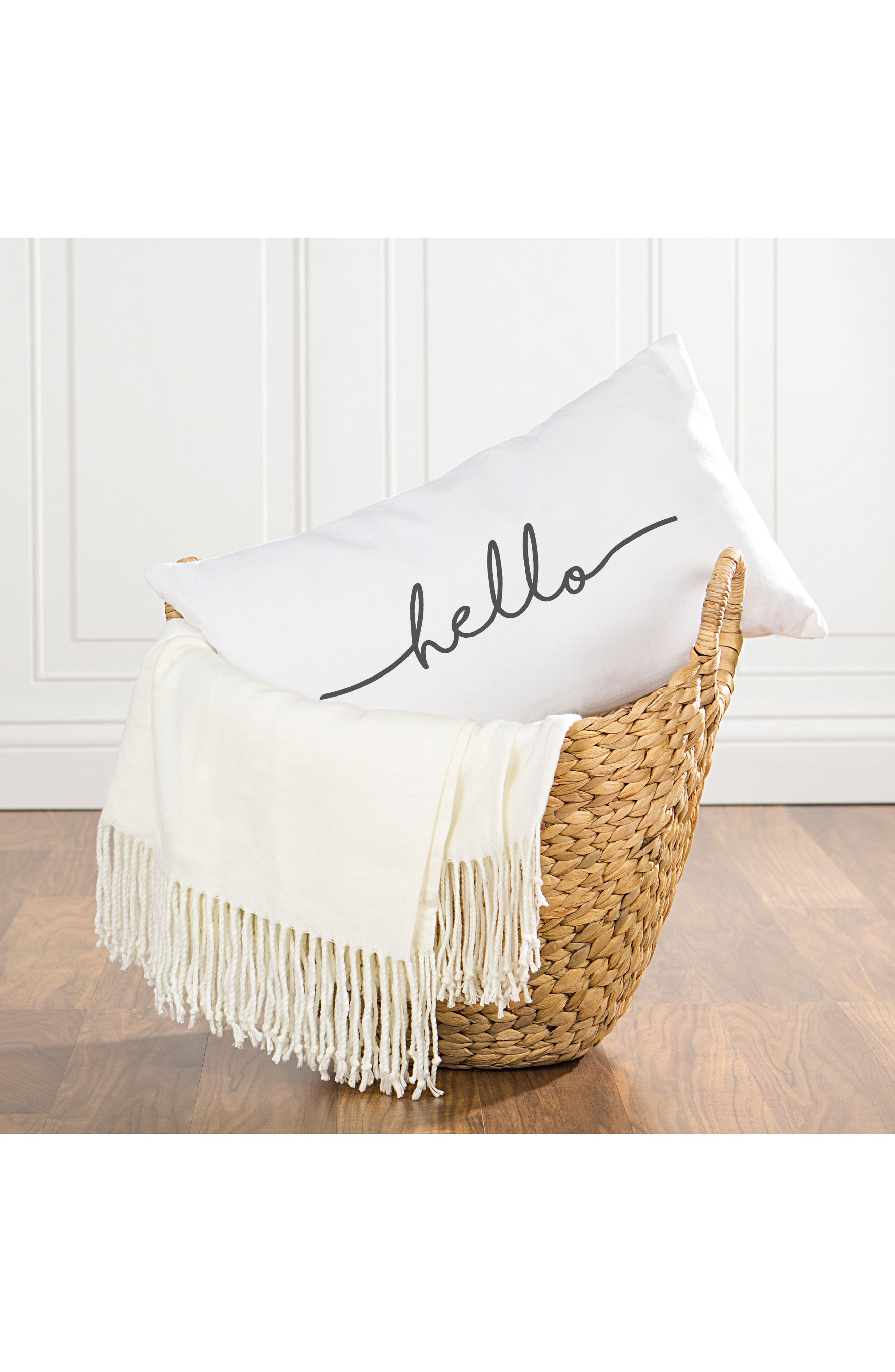 Alternate Image 4  - Cathy's Concepts Hello Lumbar Accent Pillow
