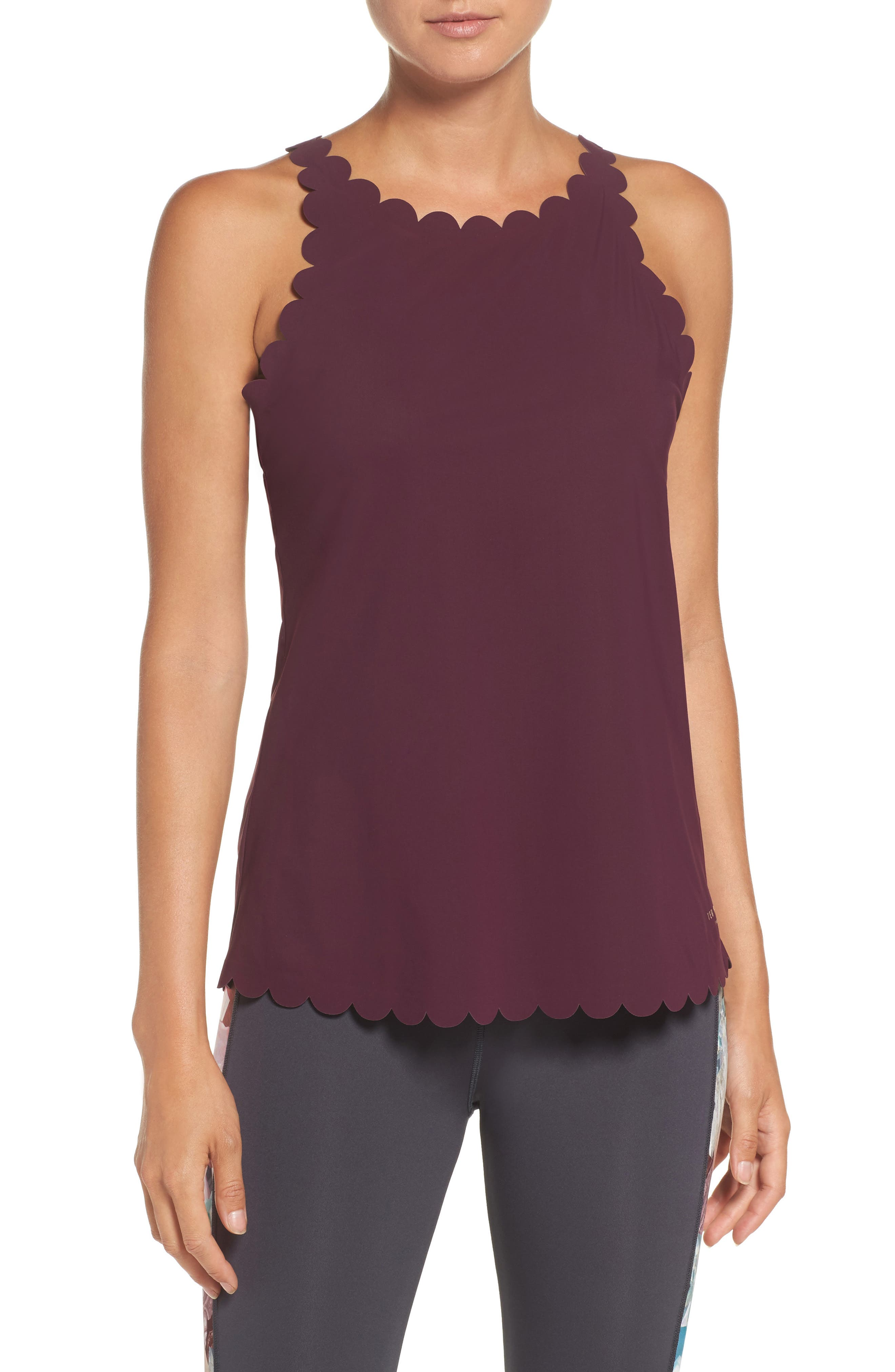 Ted Baker London Scallop Detail Tank